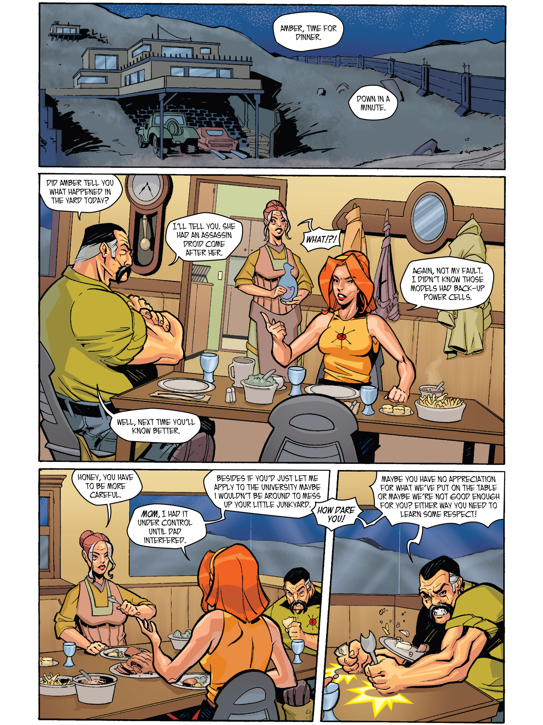 Read online Amber Atoms comic -  Issue #1 - 18
