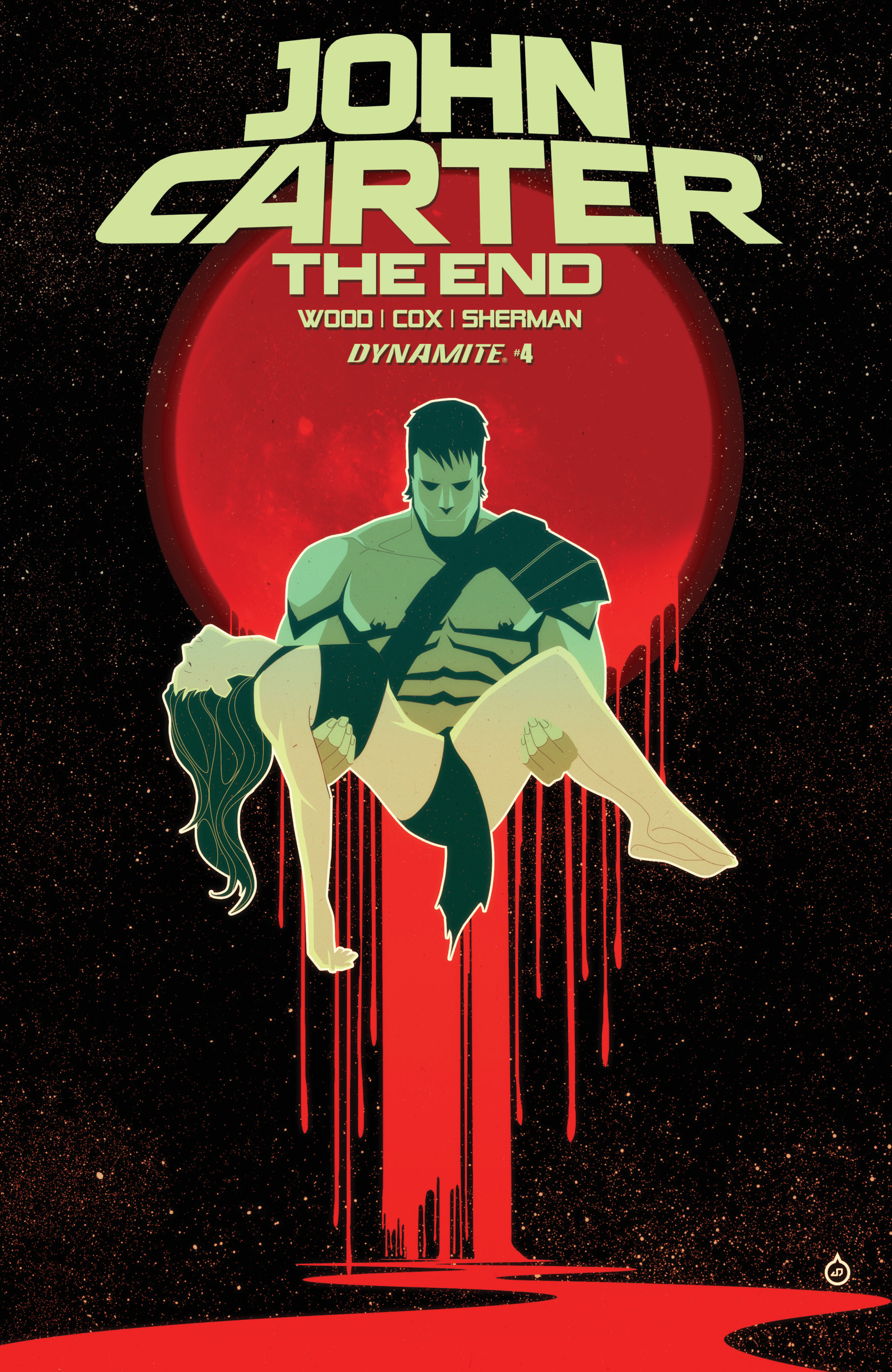 Read online John Carter: The End comic -  Issue #4 - 1