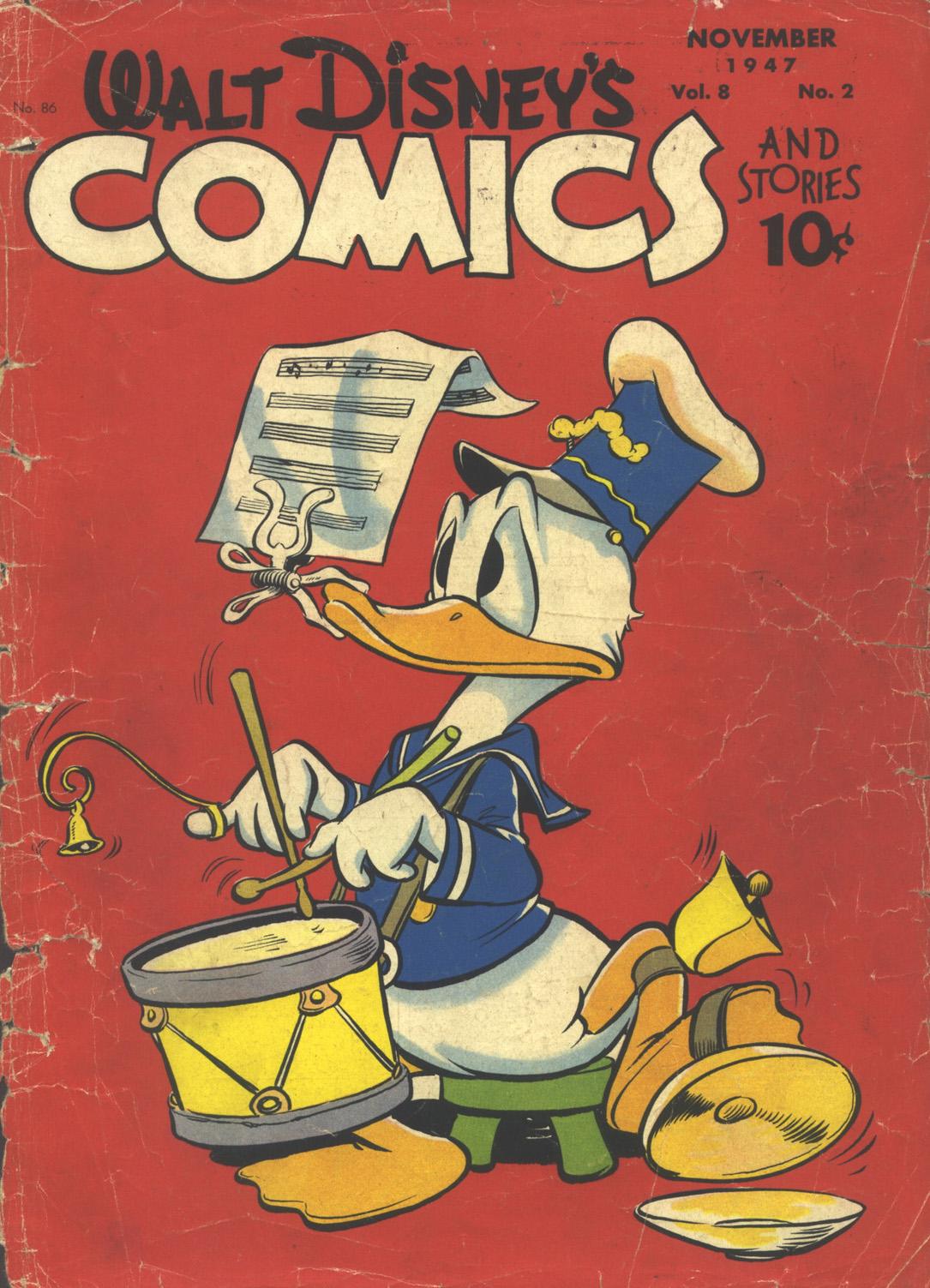 Walt Disneys Comics and Stories 86 Page 1