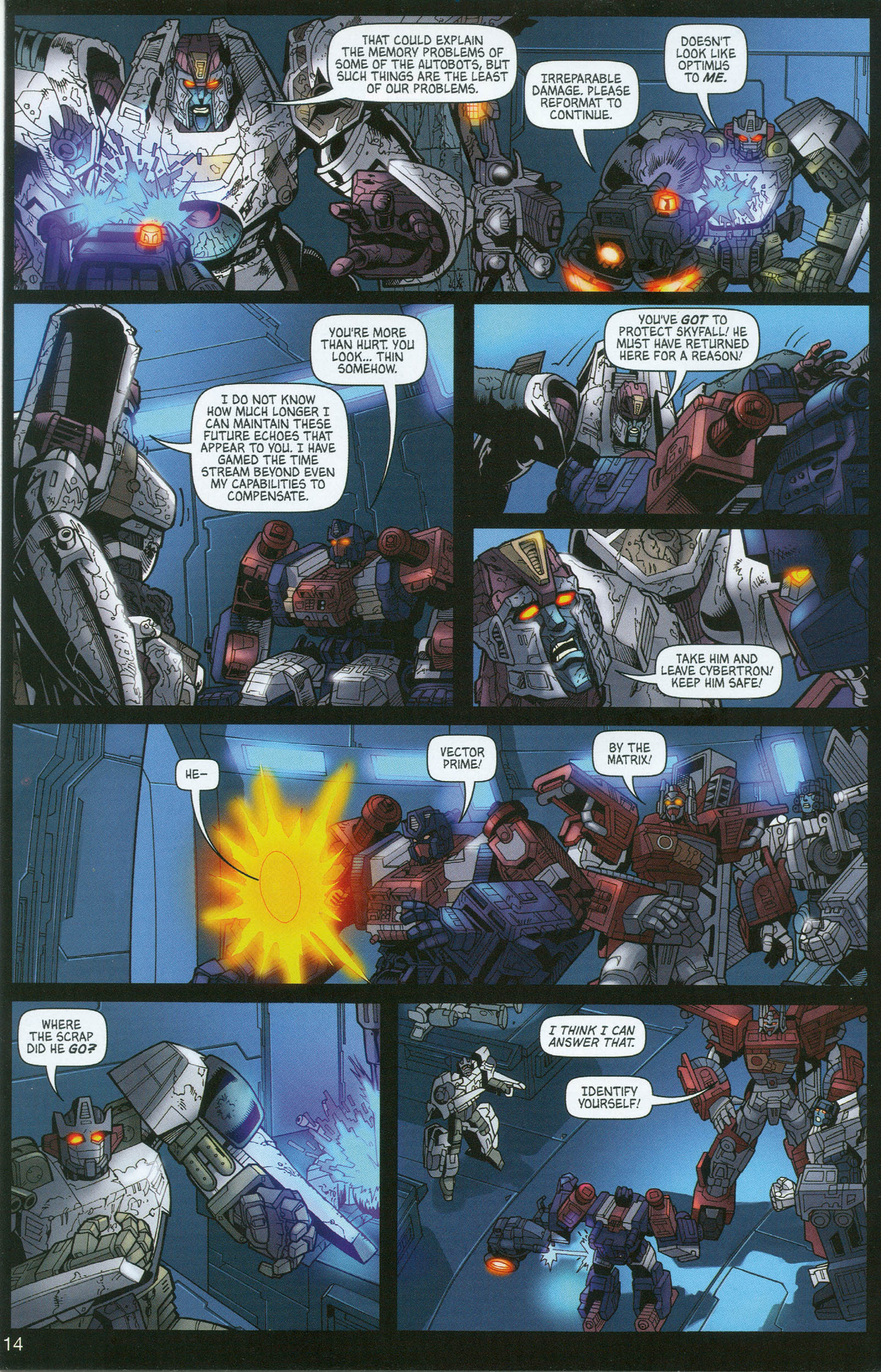 Read online Transformers: Collectors' Club comic -  Issue #8 - 14
