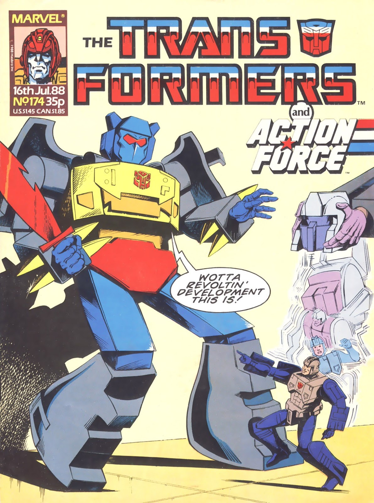 The Transformers (UK) 174 Page 1