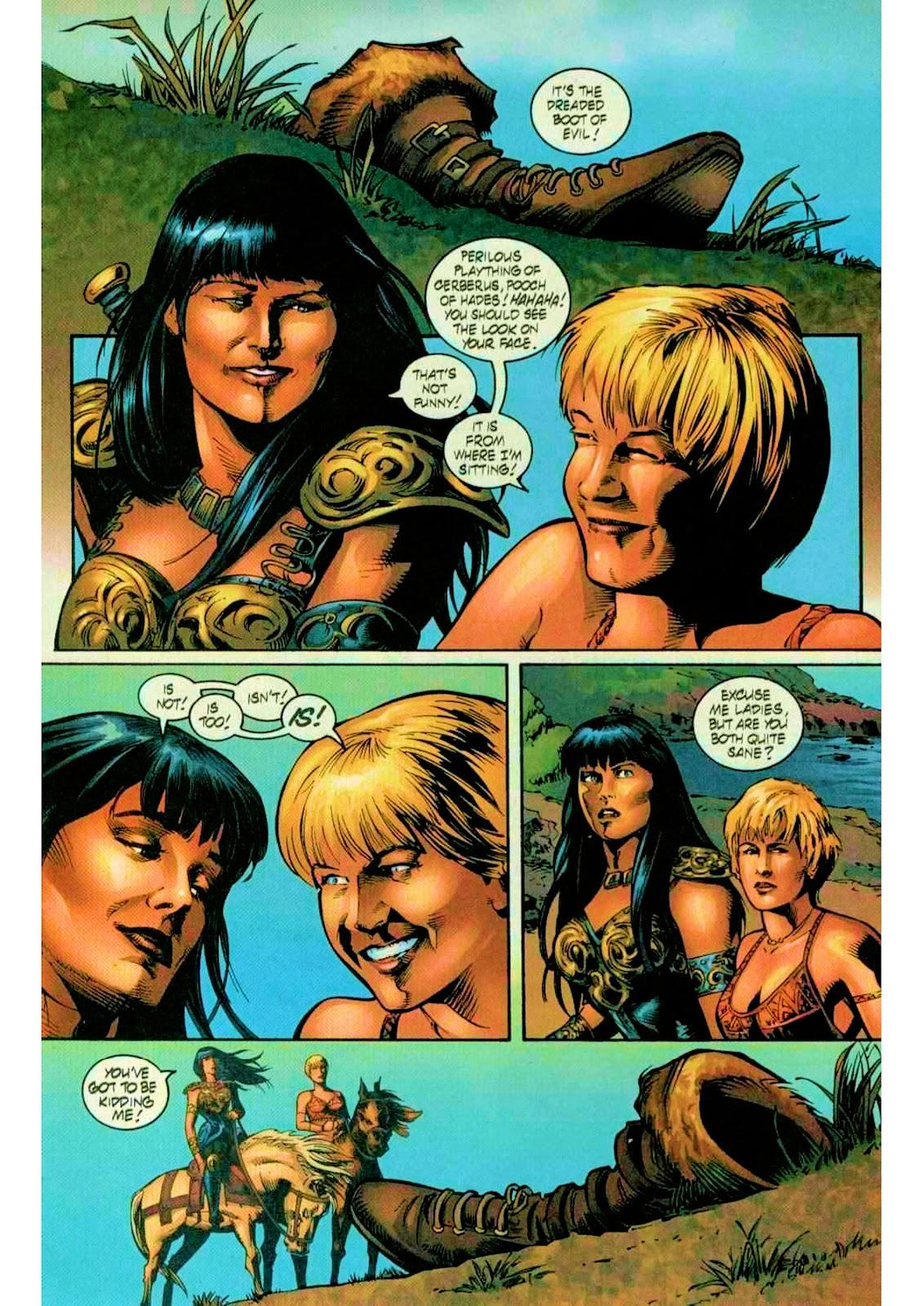 Xena: Warrior Princess (1999) Issue #10 #10 - English 6