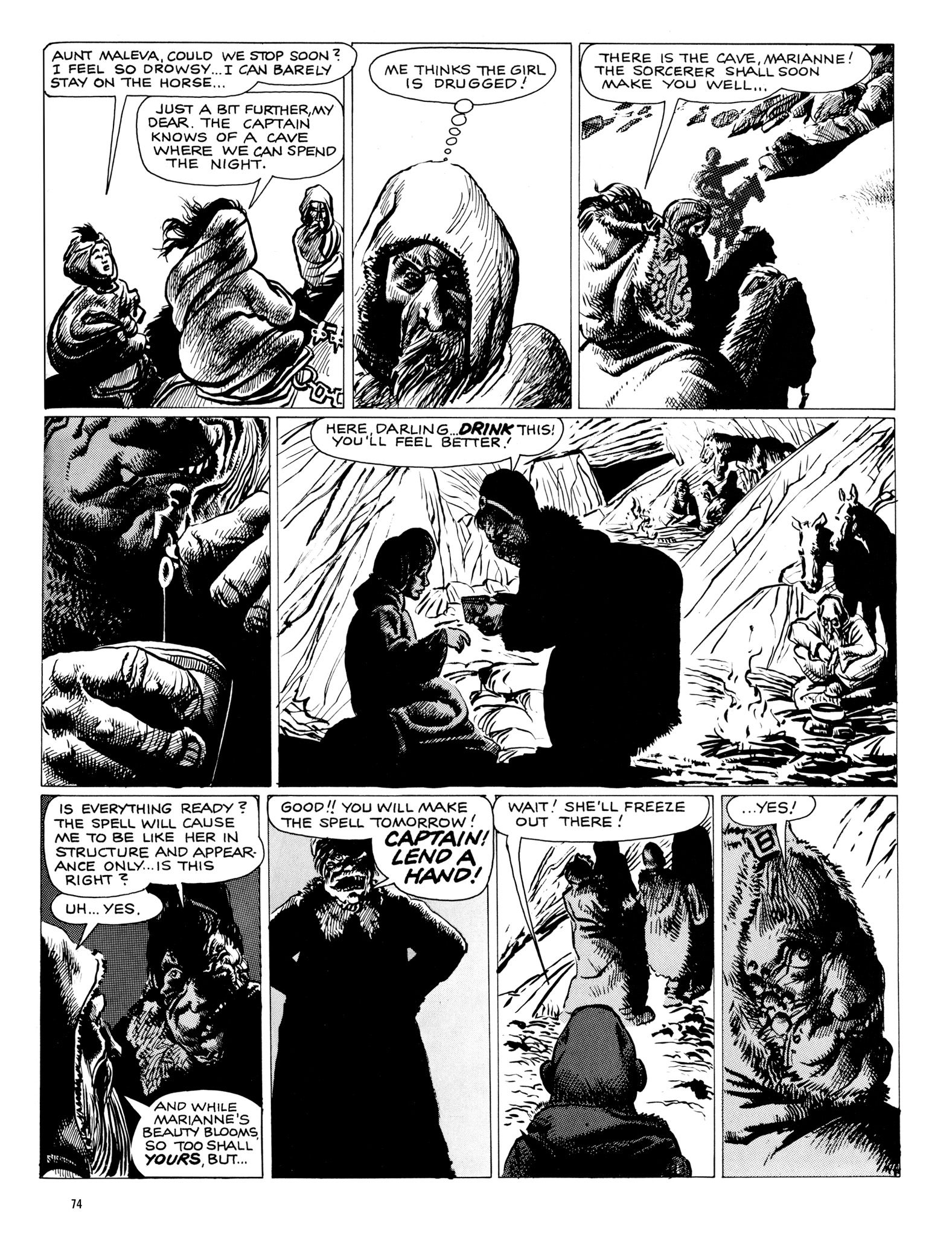 Read online Eerie Archives comic -  Issue # TPB 18 - 75