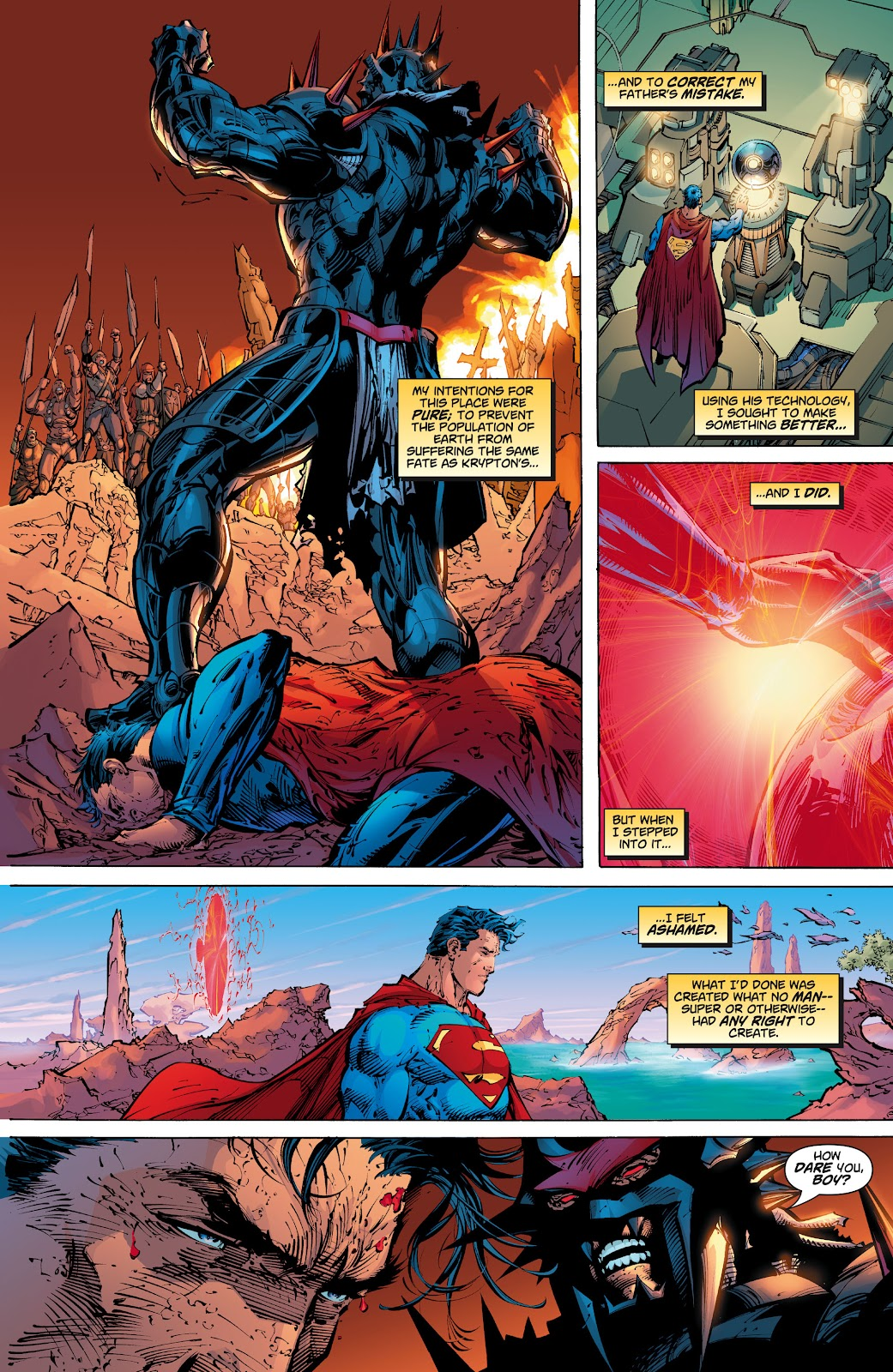 Read online Superman: For Tomorrow comic -  Issue # TPB (Part 3) - 62