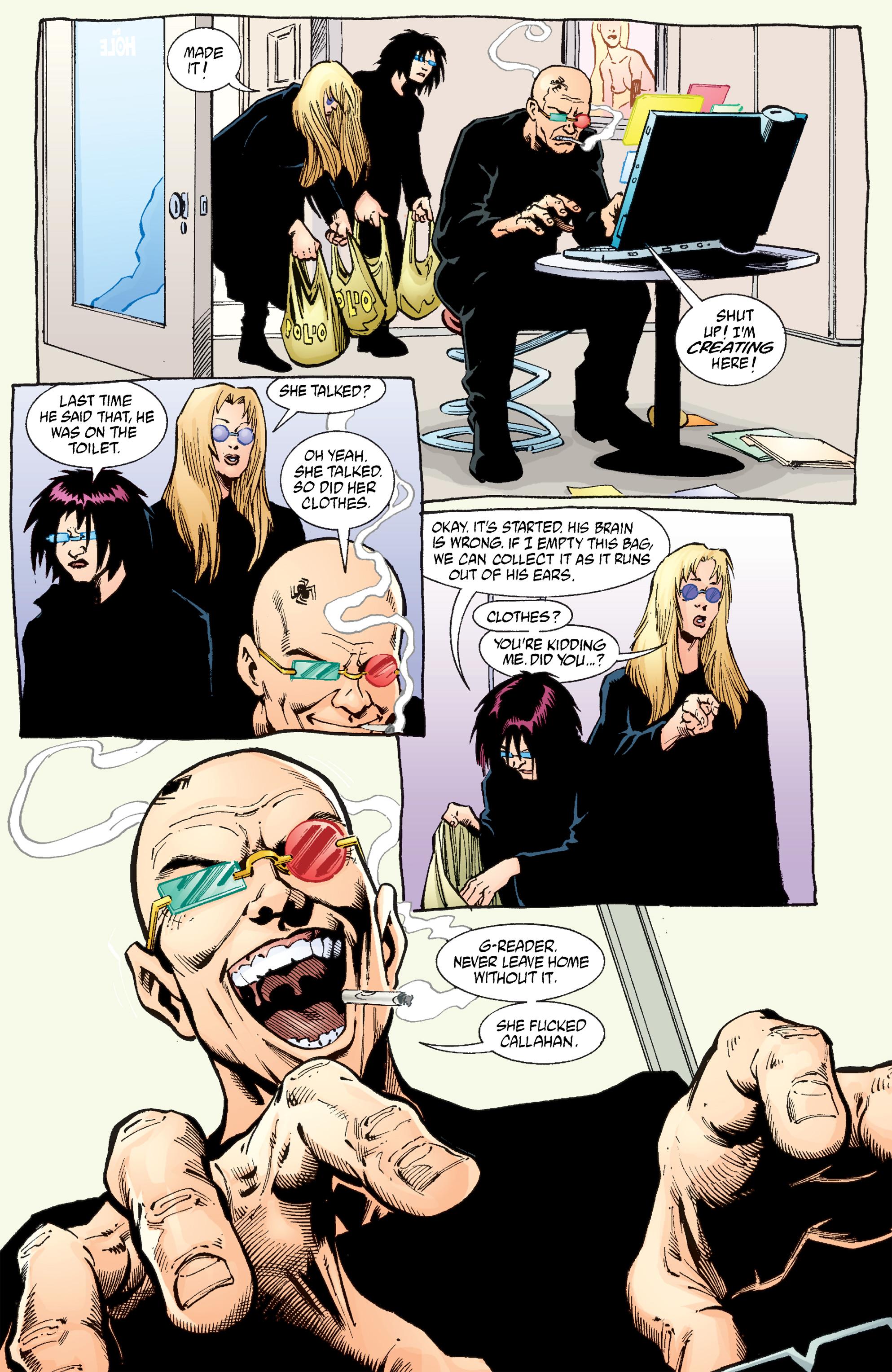 Read online Transmetropolitan comic -  Issue #54 - 16