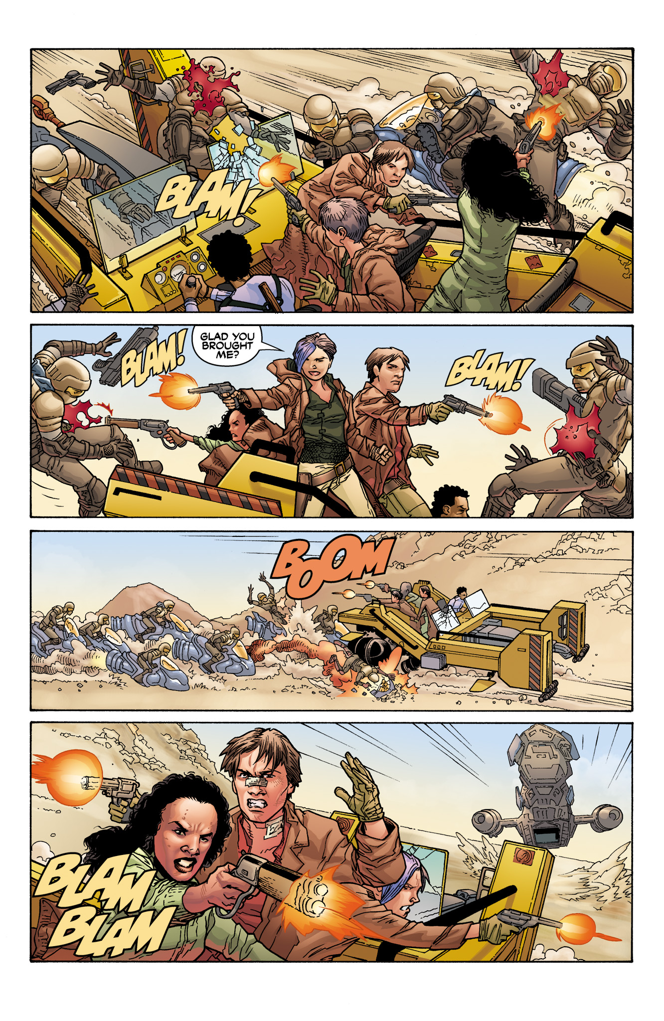 Read online Serenity: Firefly Class 03-K64  Leaves on the Wind comic -  Issue #6 - 16