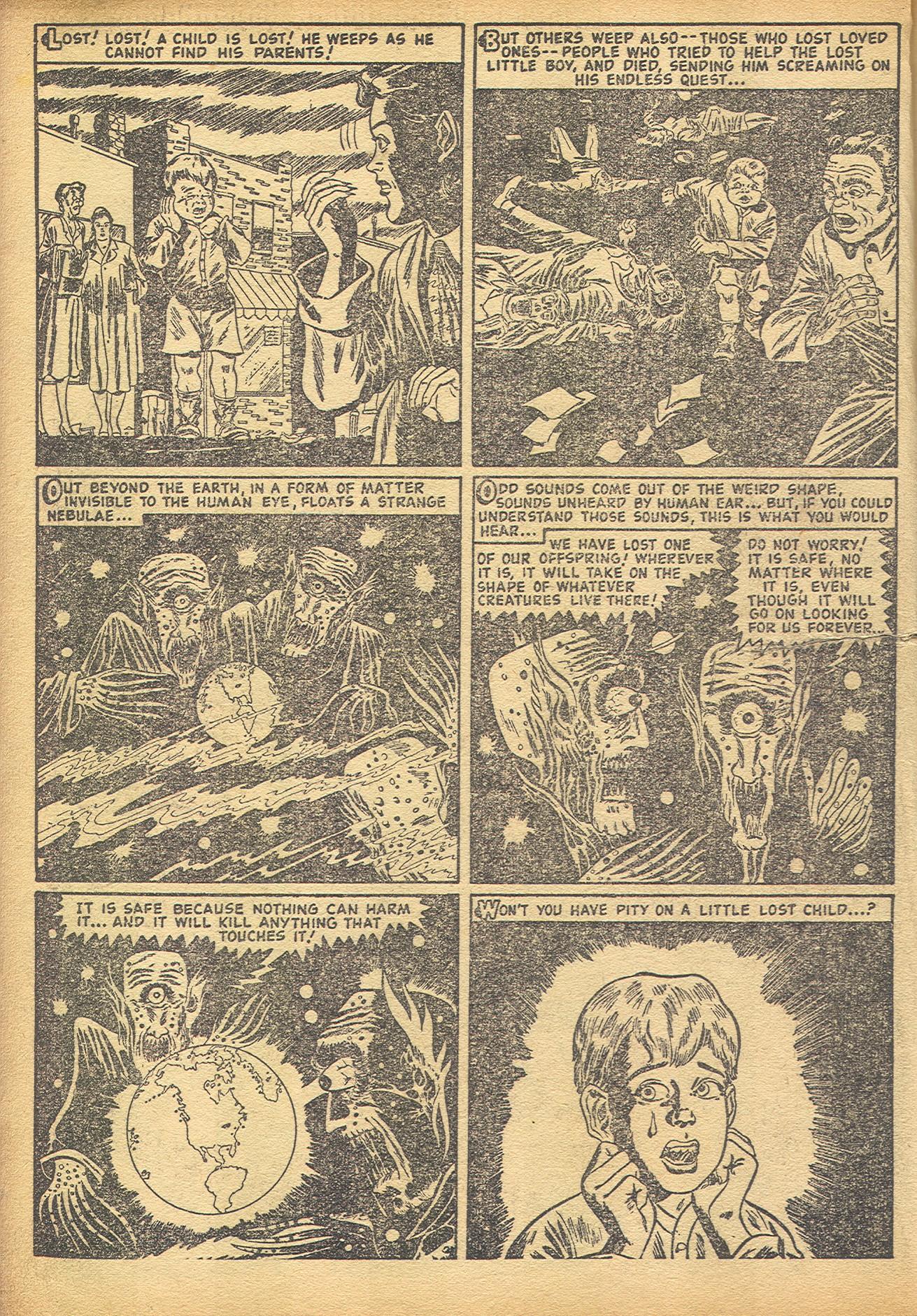 Read online Adventures into Weird Worlds comic -  Issue #8 - 14