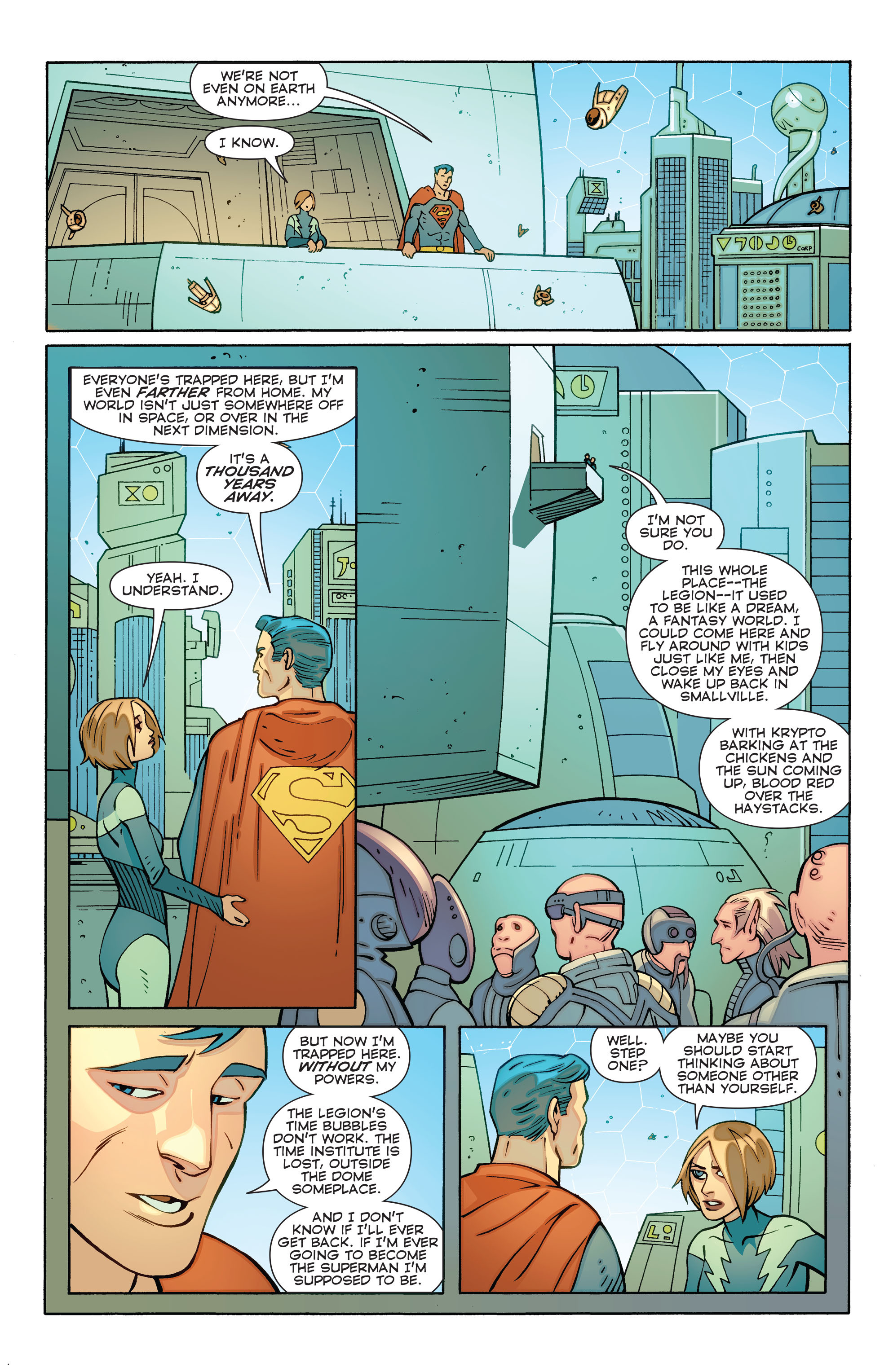 Read online Convergence Superboy and the Legion of Super-Heroes comic -  Issue #1 - 13