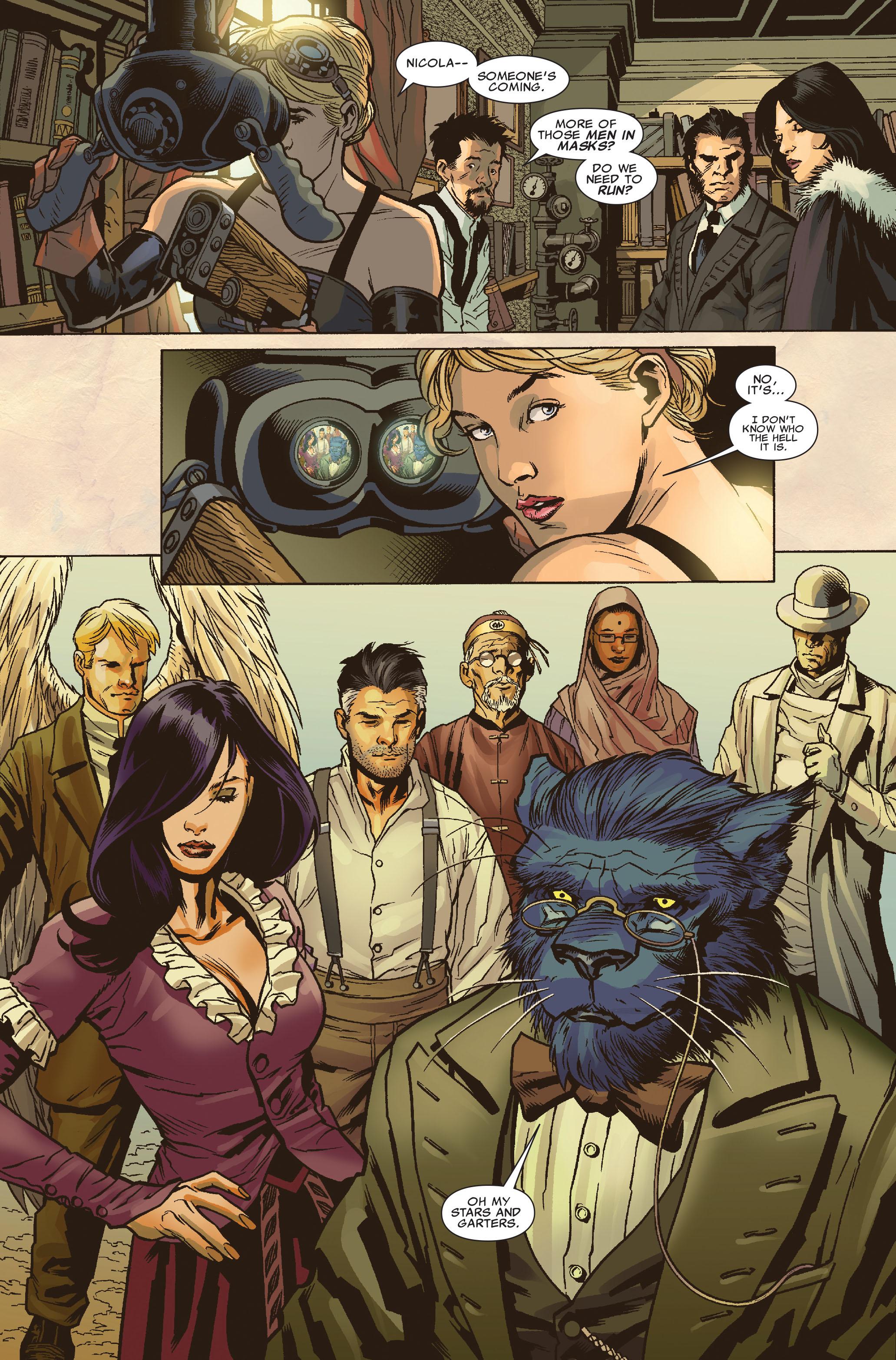 Read online Uncanny X-Men (1963) comic -  Issue #512 - 10