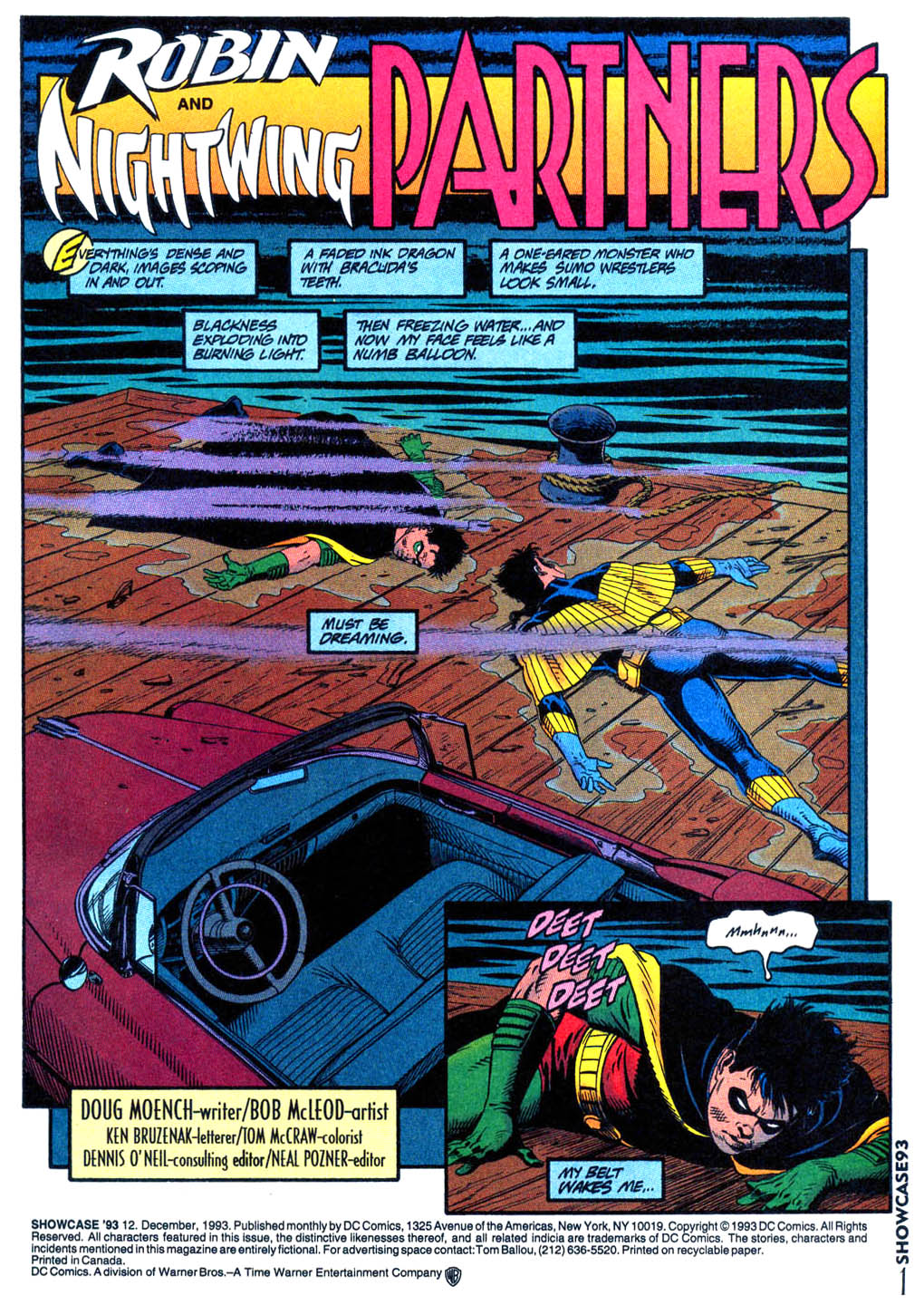 Read online Showcase '93 comic -  Issue #12 - 2