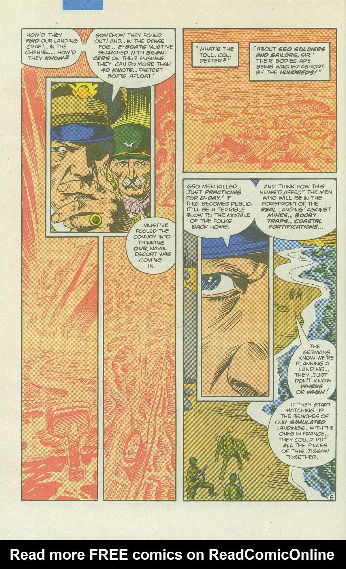 Read online Sgt. Rock comic -  Issue #422 - 11