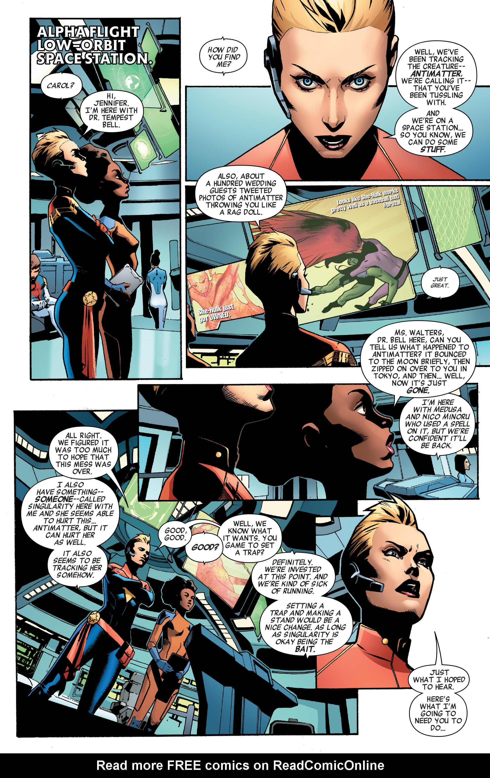 Read online A-Force (2016) comic -  Issue #2 - 18