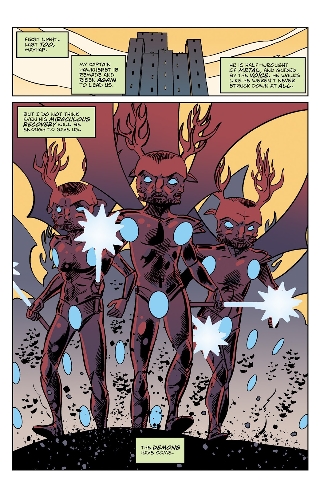 Read online Dark Ages comic -  Issue #4 - 3