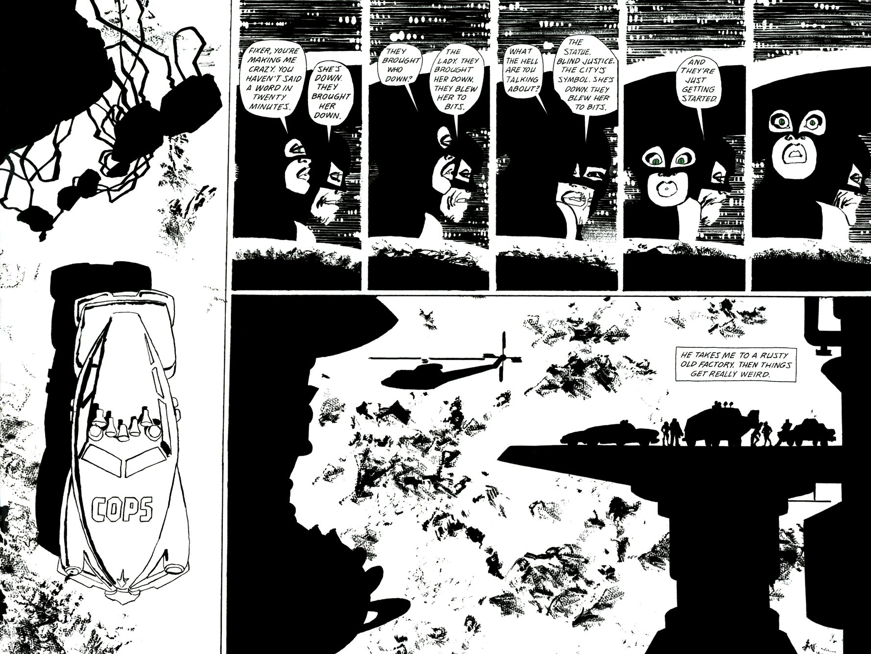 Read online Frank Miller's Holy Terror comic -  Issue # TPB - 92
