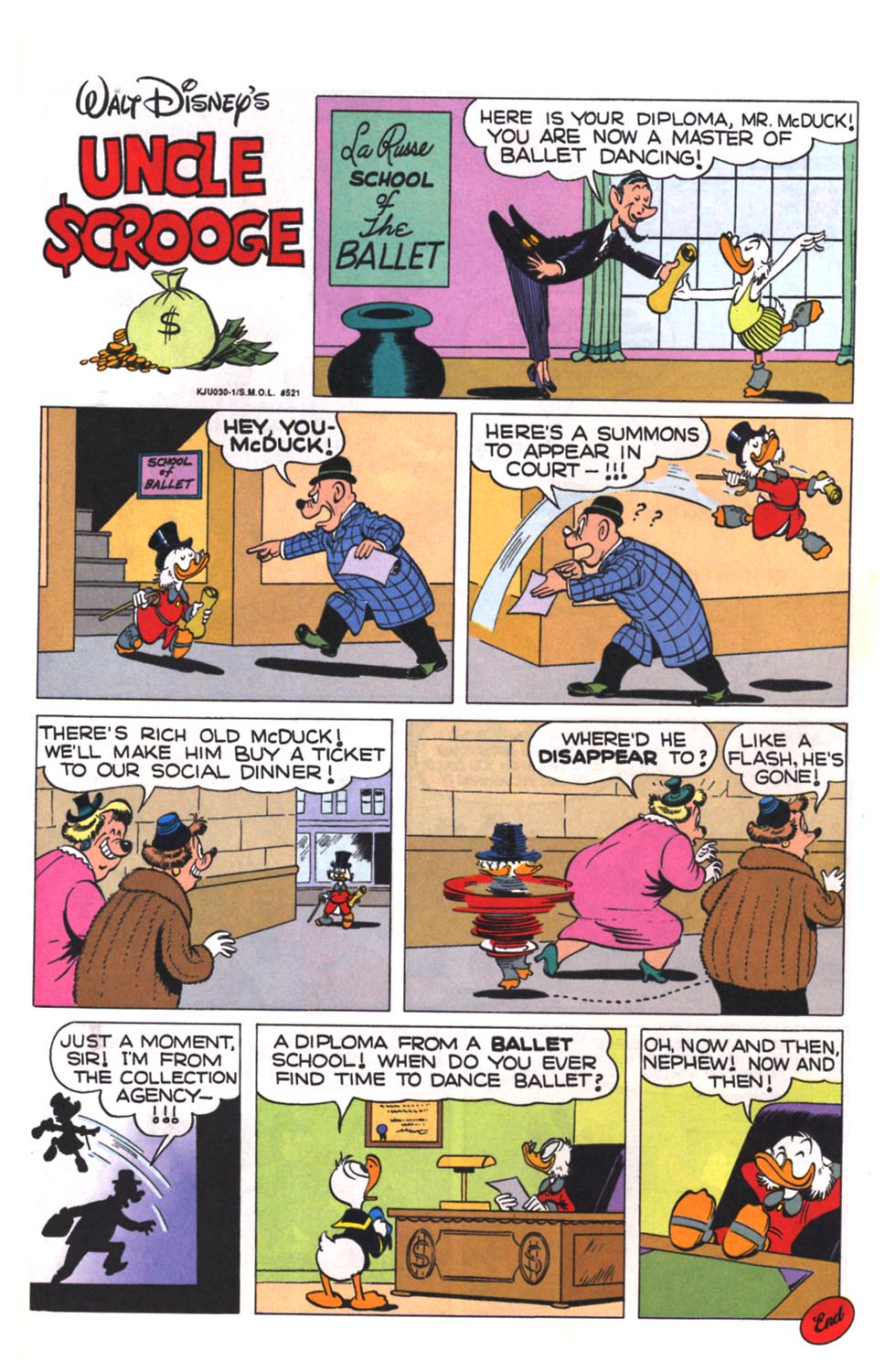 Read online Uncle Scrooge (1953) comic -  Issue #260 - 20