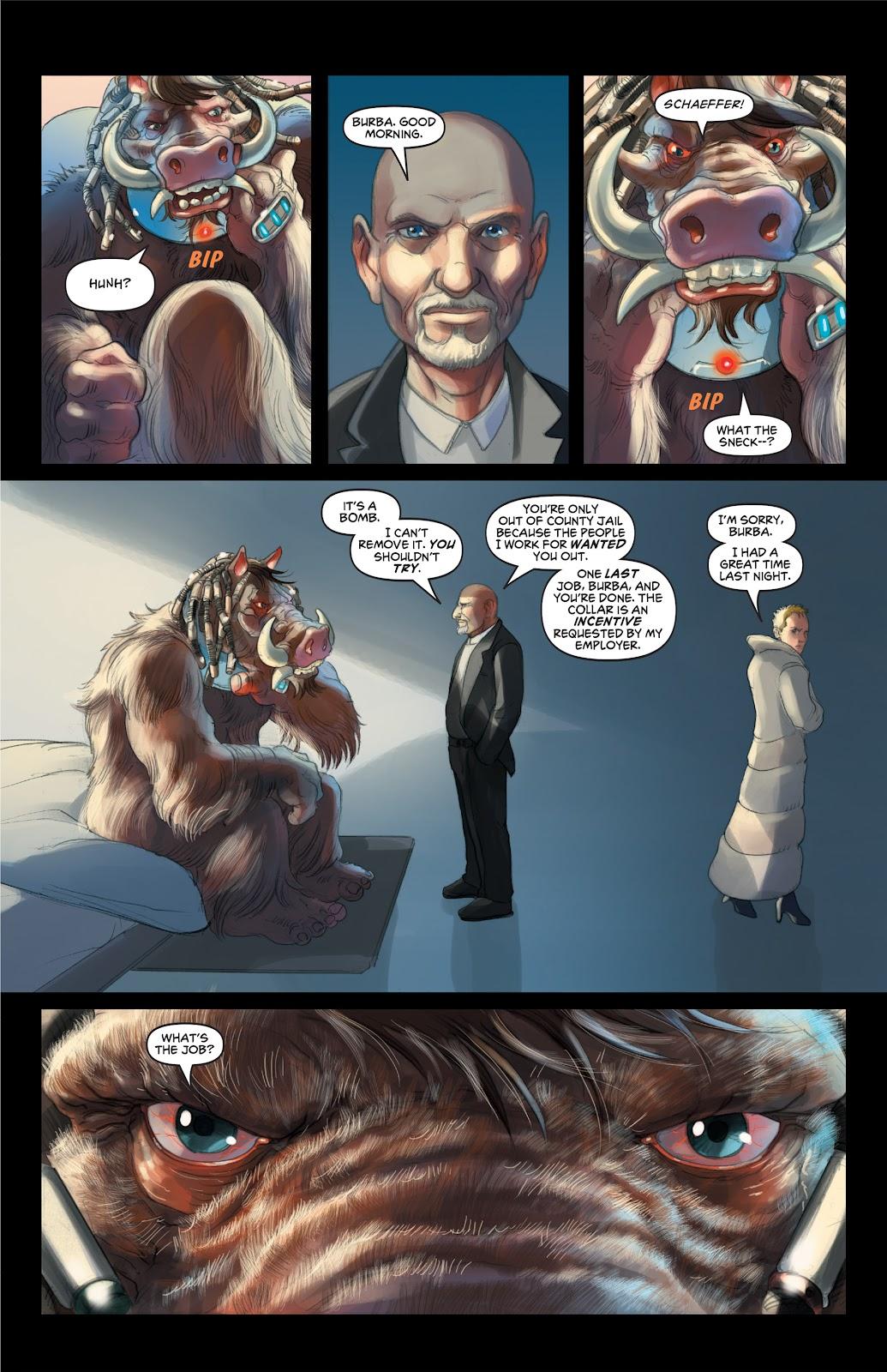 Read online Elephantmen 2261 Season Two: The Pentalion Job comic -  Issue # TPB - 14