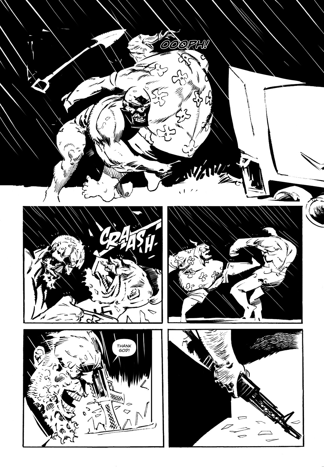 Read online Wrath of God comic -  Issue #3 - 9