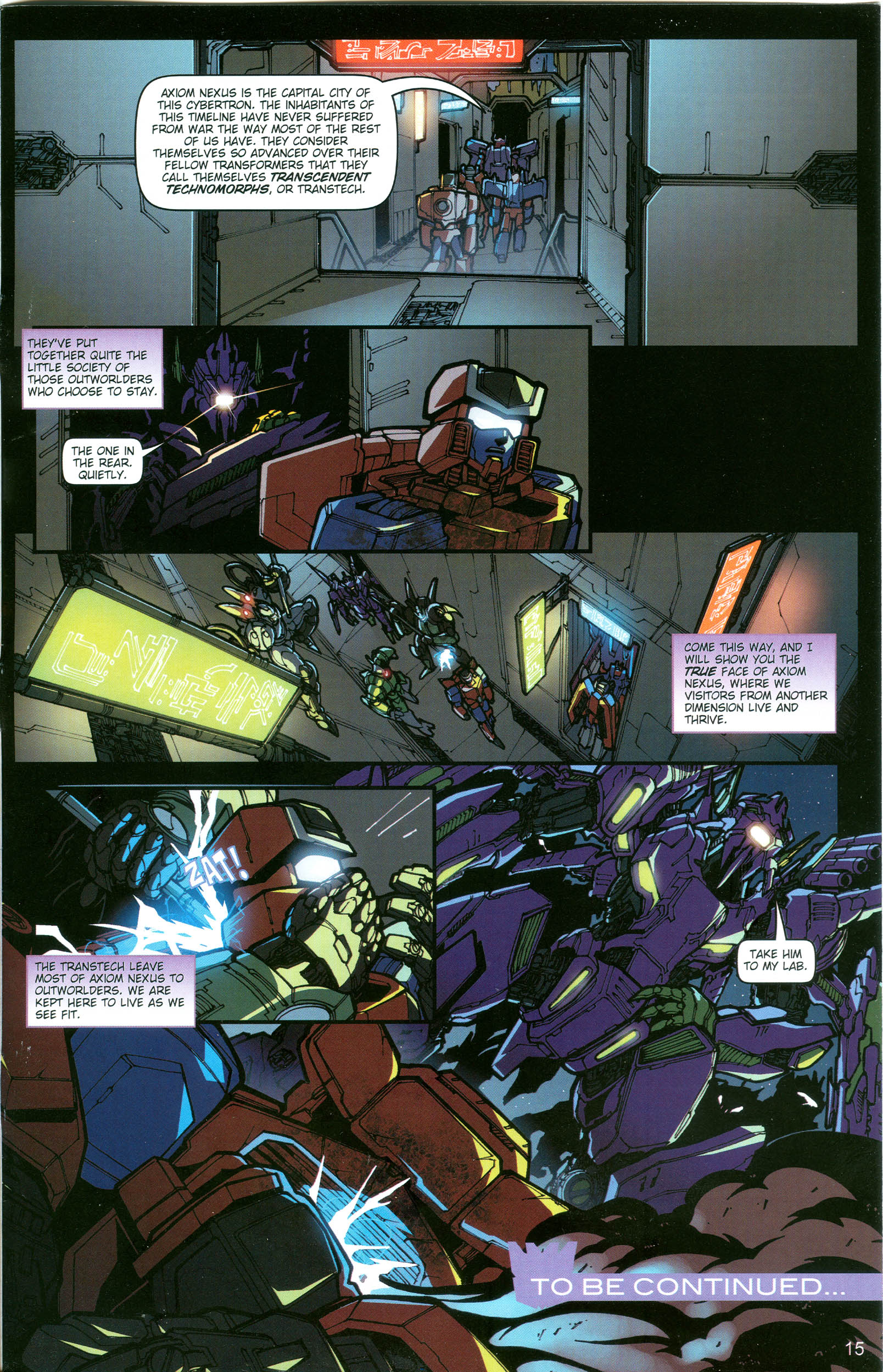 Read online Transformers: Collectors' Club comic -  Issue #19 - 15