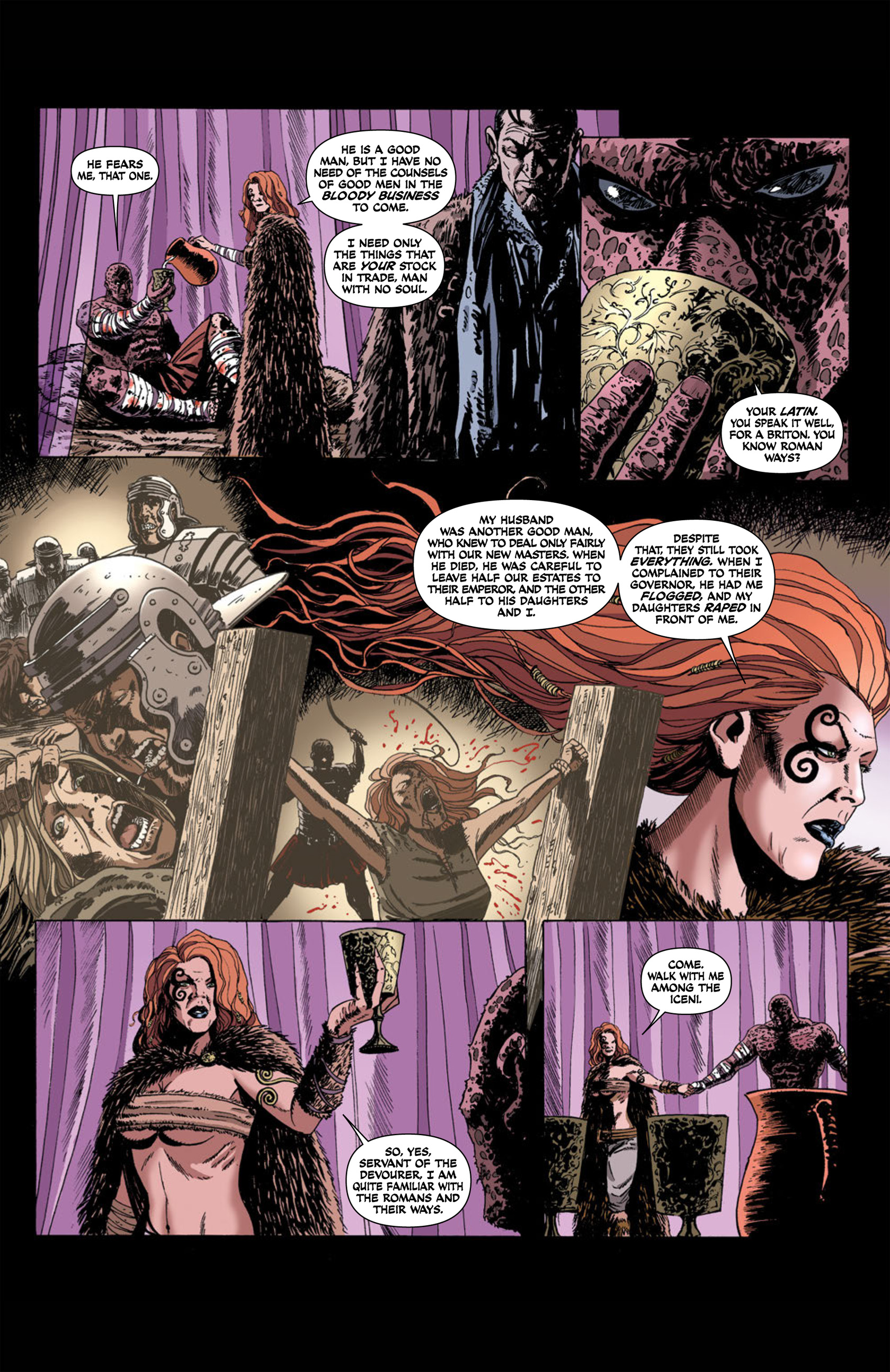 Read online Aquila comic -  Issue #1 - 20