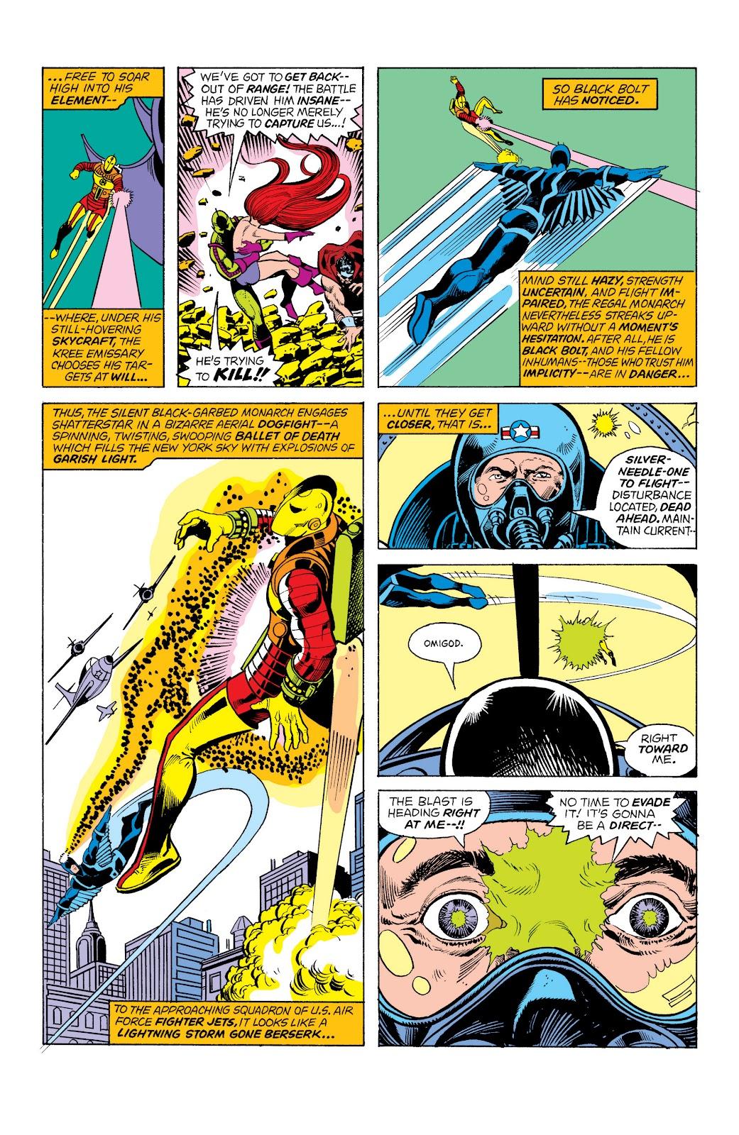 Read online Marvel Masterworks: The Inhumans comic -  Issue # TPB 2 (Part 1) - 68