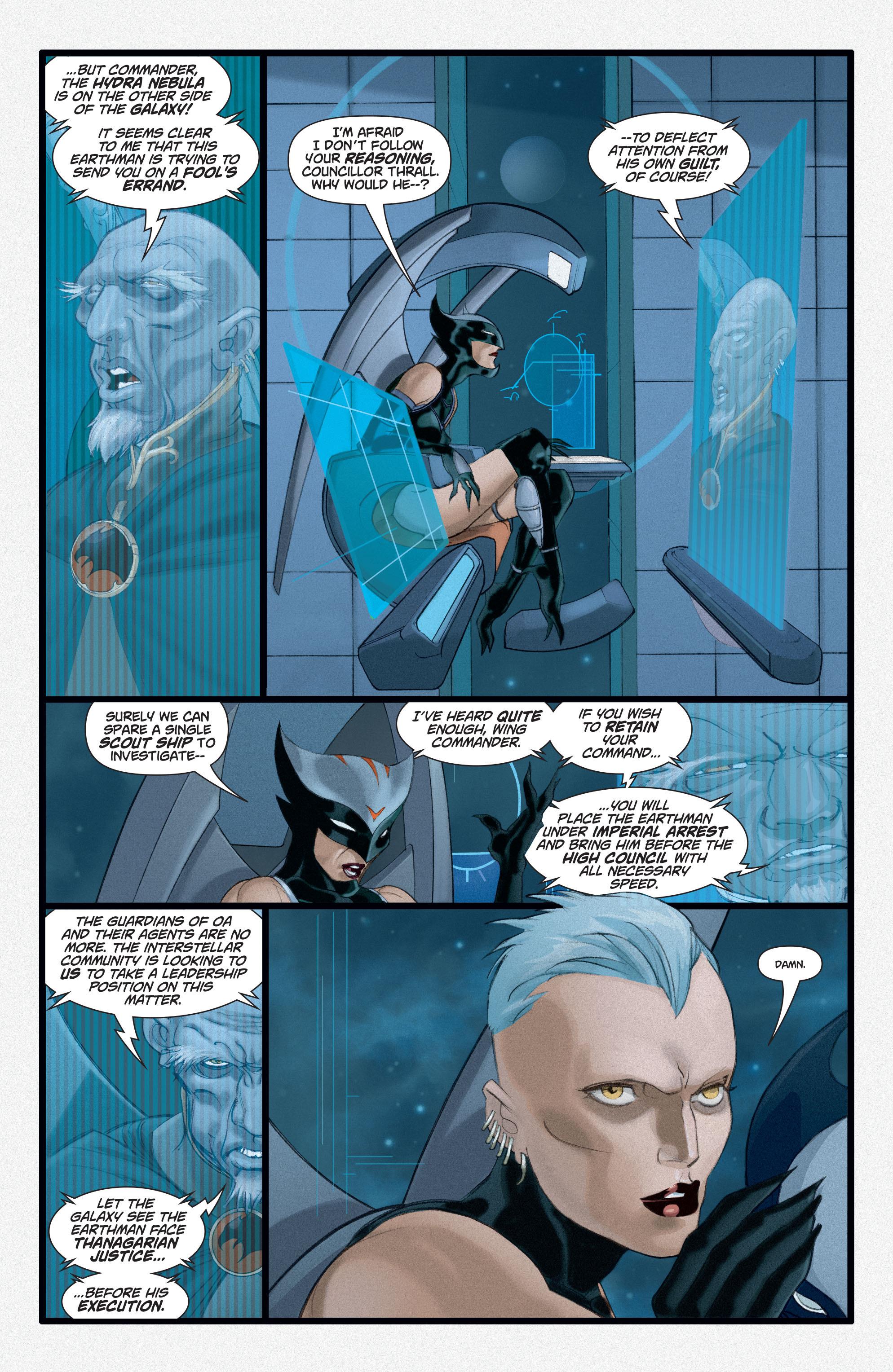 Read online Adam Strange (2004) comic -  Issue #3 - 12