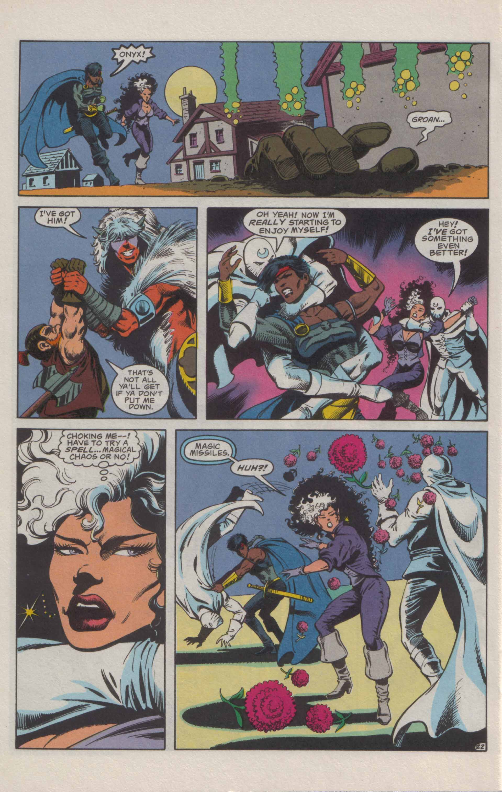 Read online Advanced Dungeons & Dragons comic -  Issue #21 - 23