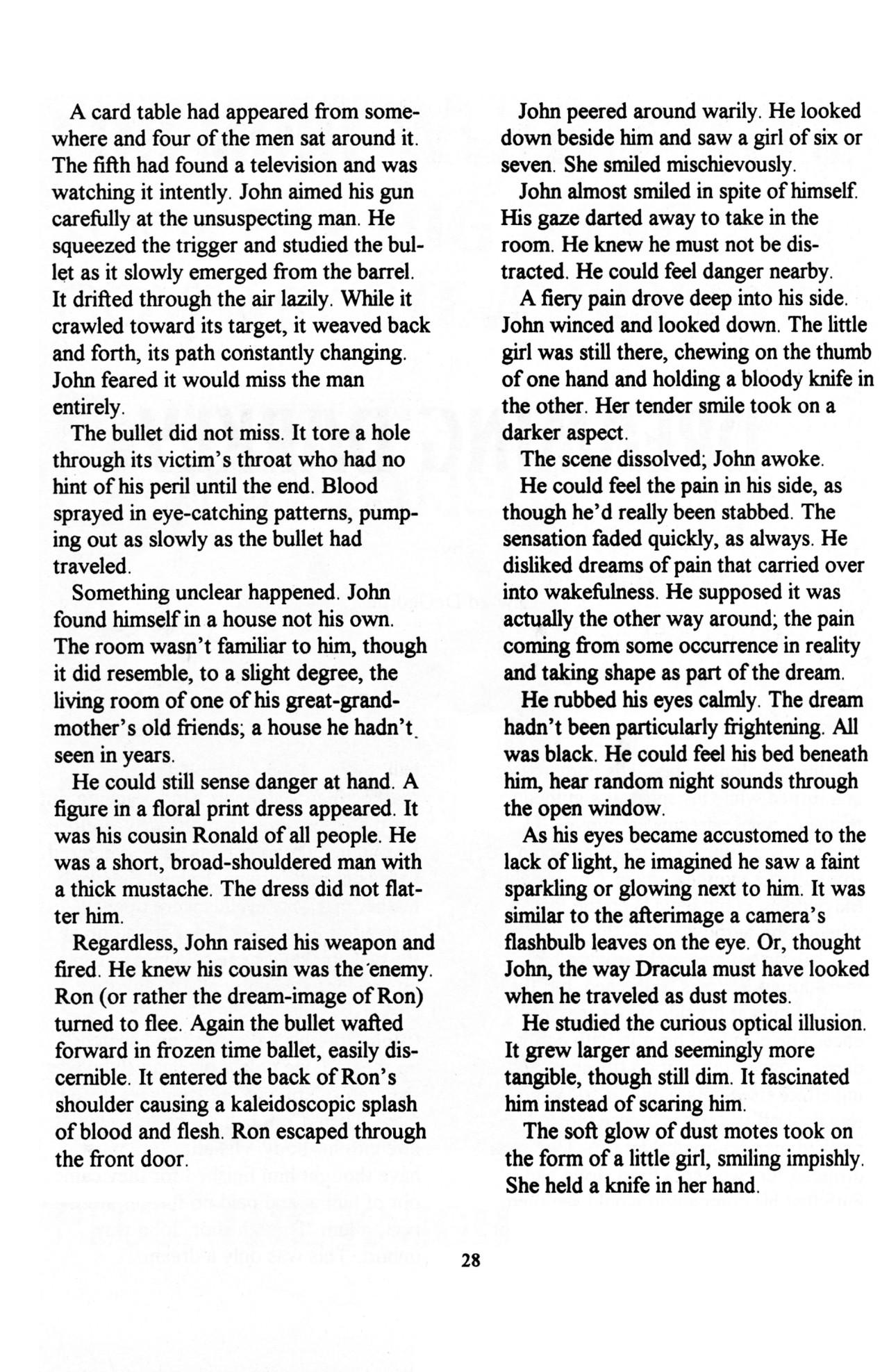 Read online Dr. Weird (1997) comic -  Issue #1 - 30