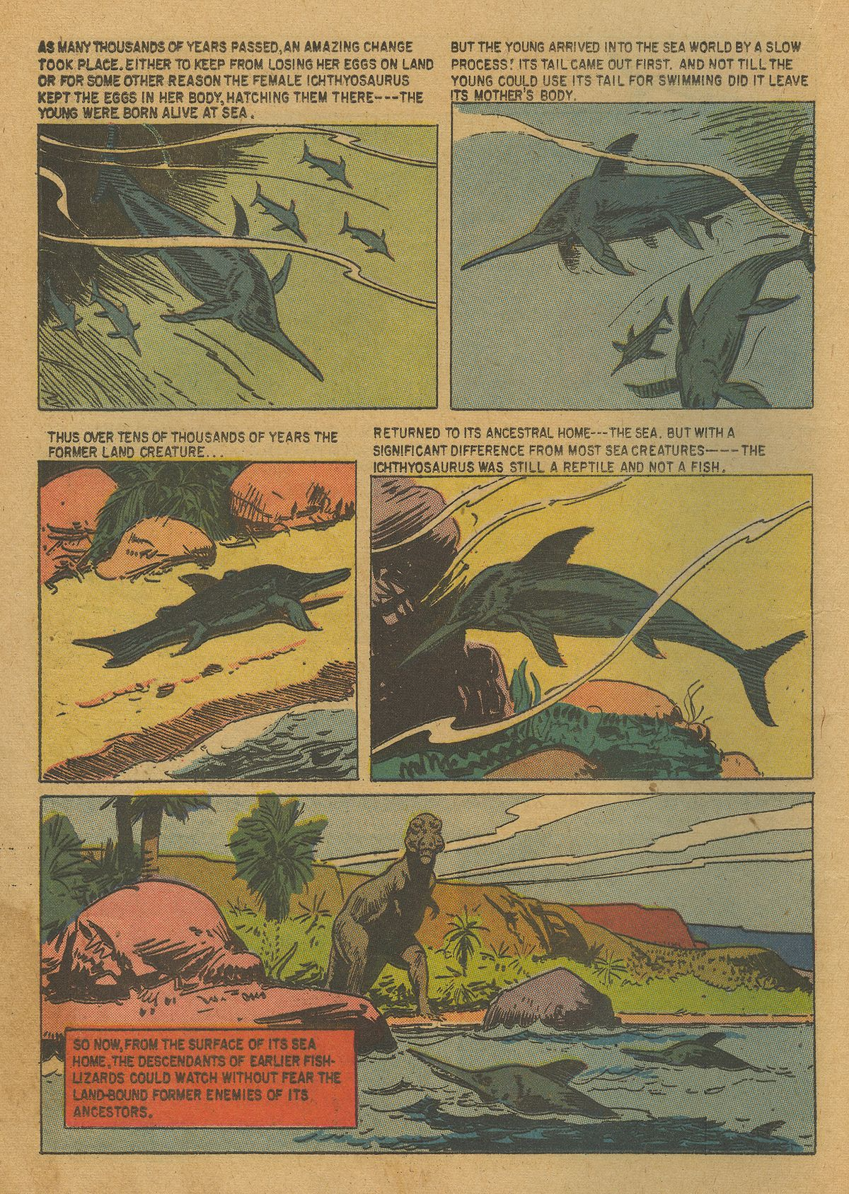 Read online Turok, Son of Stone comic -  Issue #20 - 20