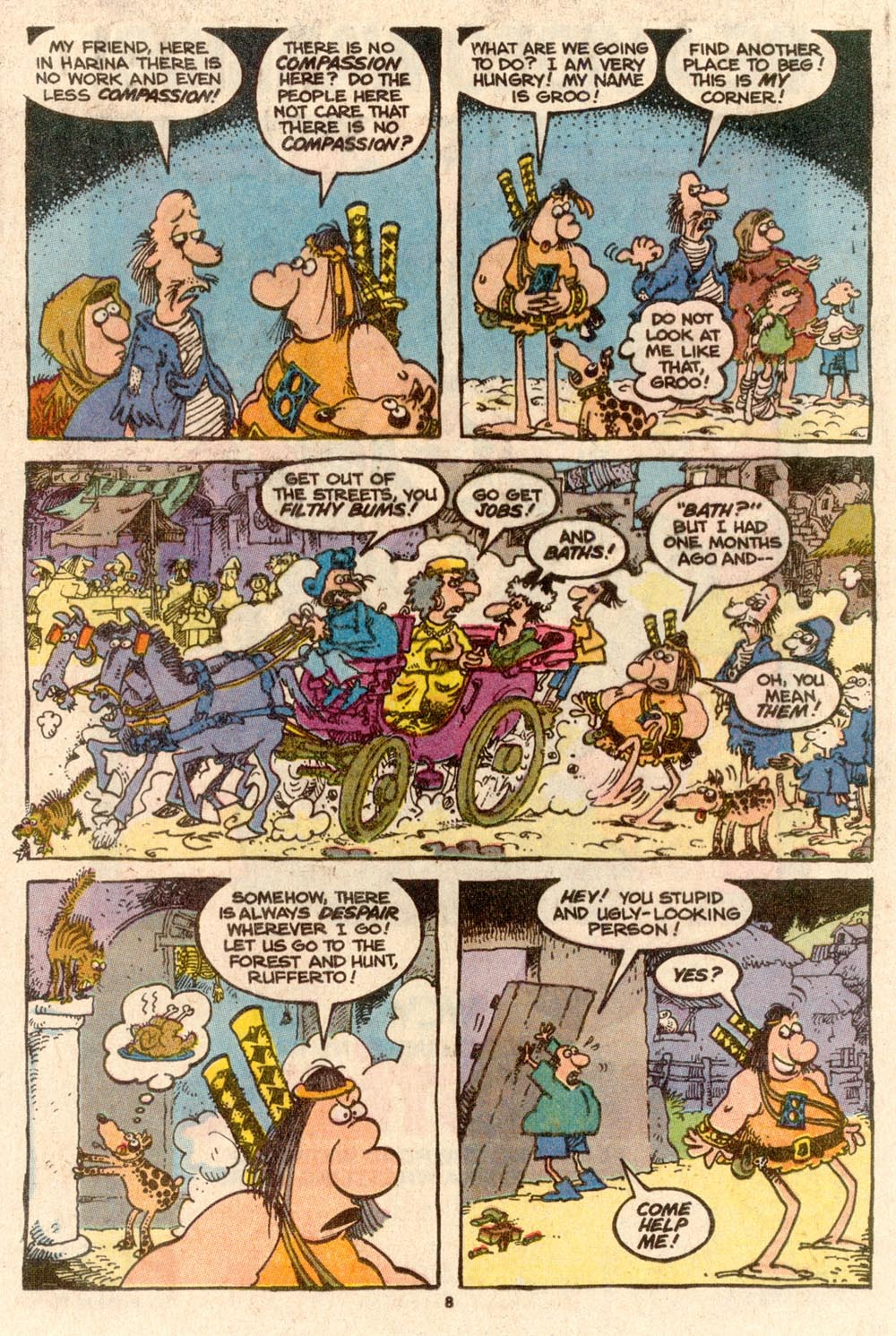 Read online Sergio Aragonés Groo the Wanderer comic -  Issue #60 - 8
