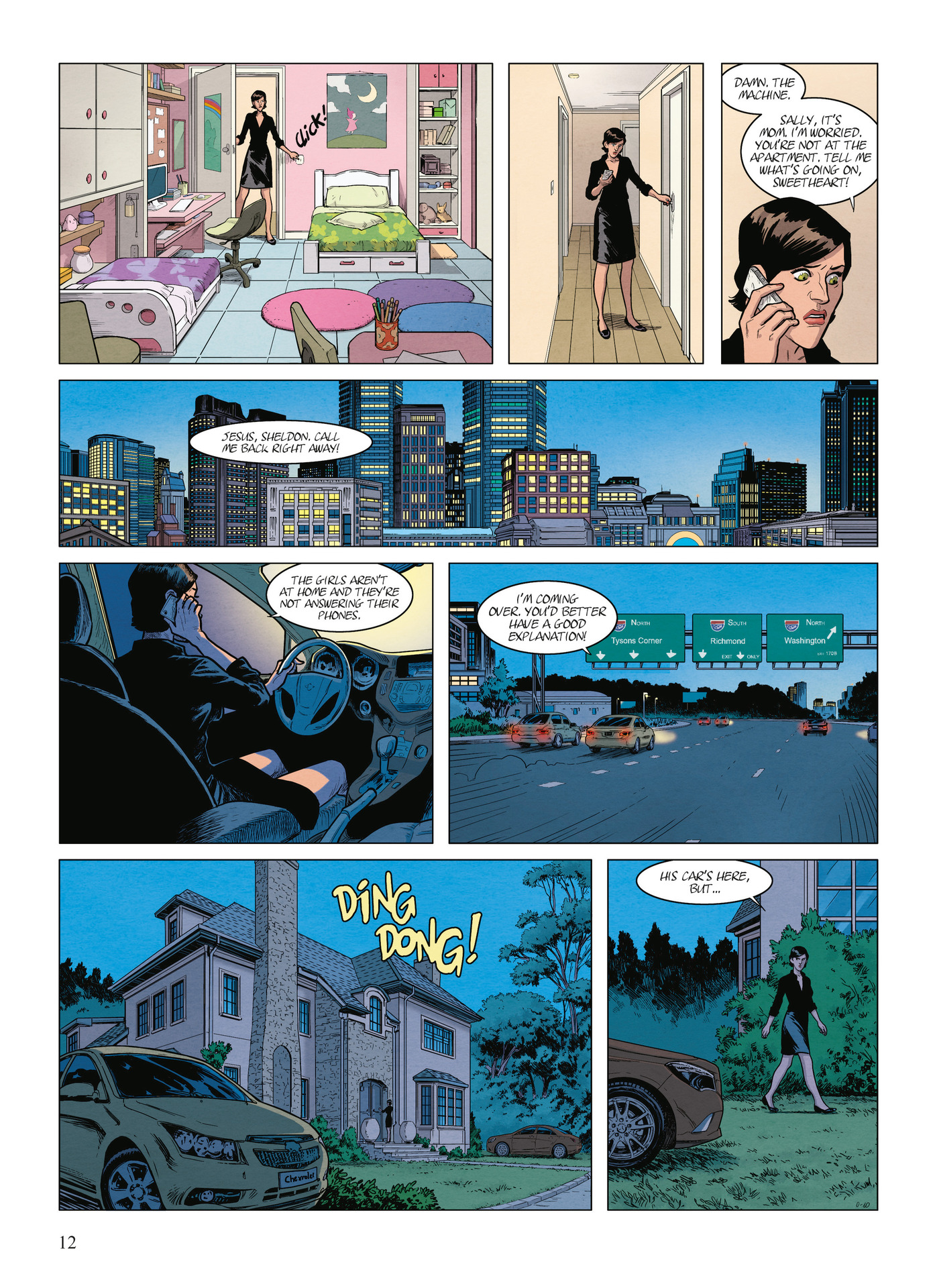 Read online Alter Ego comic -  Issue #9 - 14