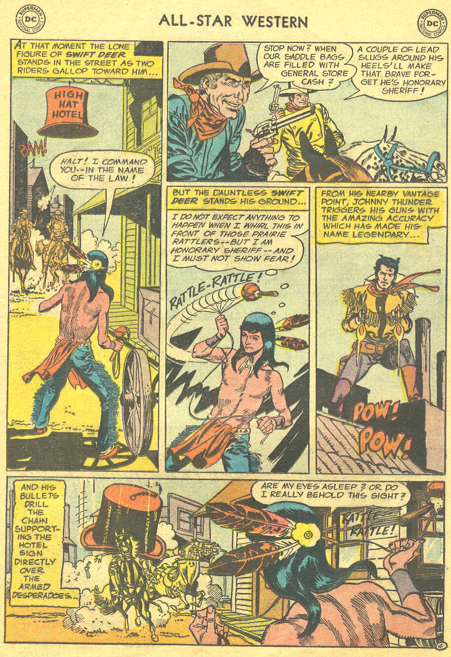 Read online All-Star Western (1951) comic -  Issue #88 - 13