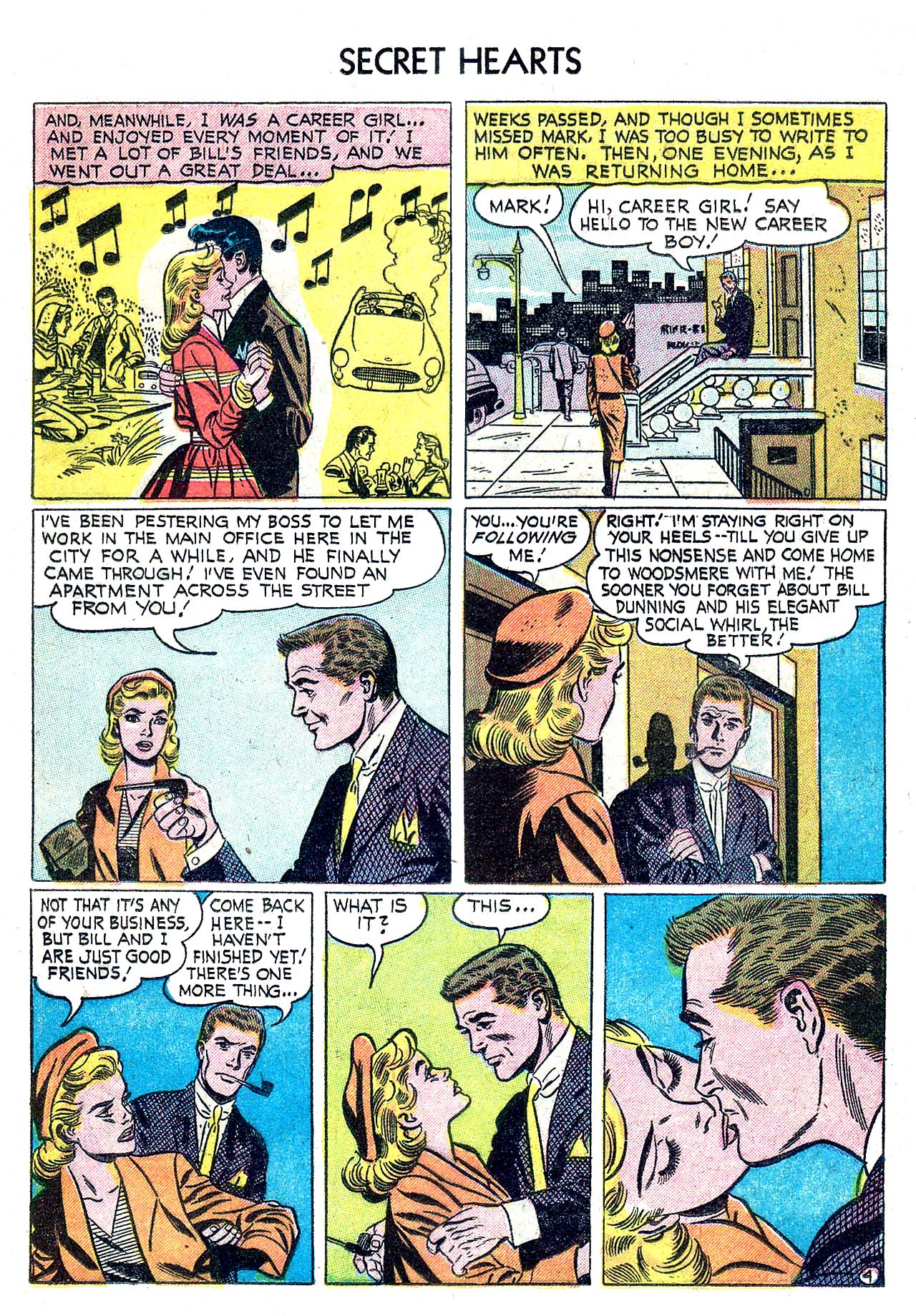 Read online Secret Hearts comic -  Issue #32 - 13