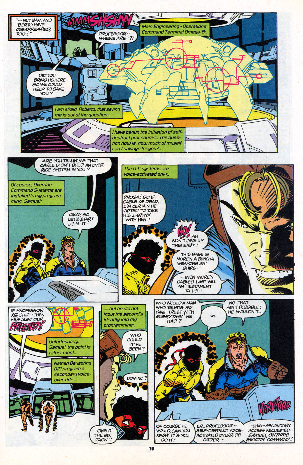 Read online X-Force (1991) comic -  Issue #21 - 20