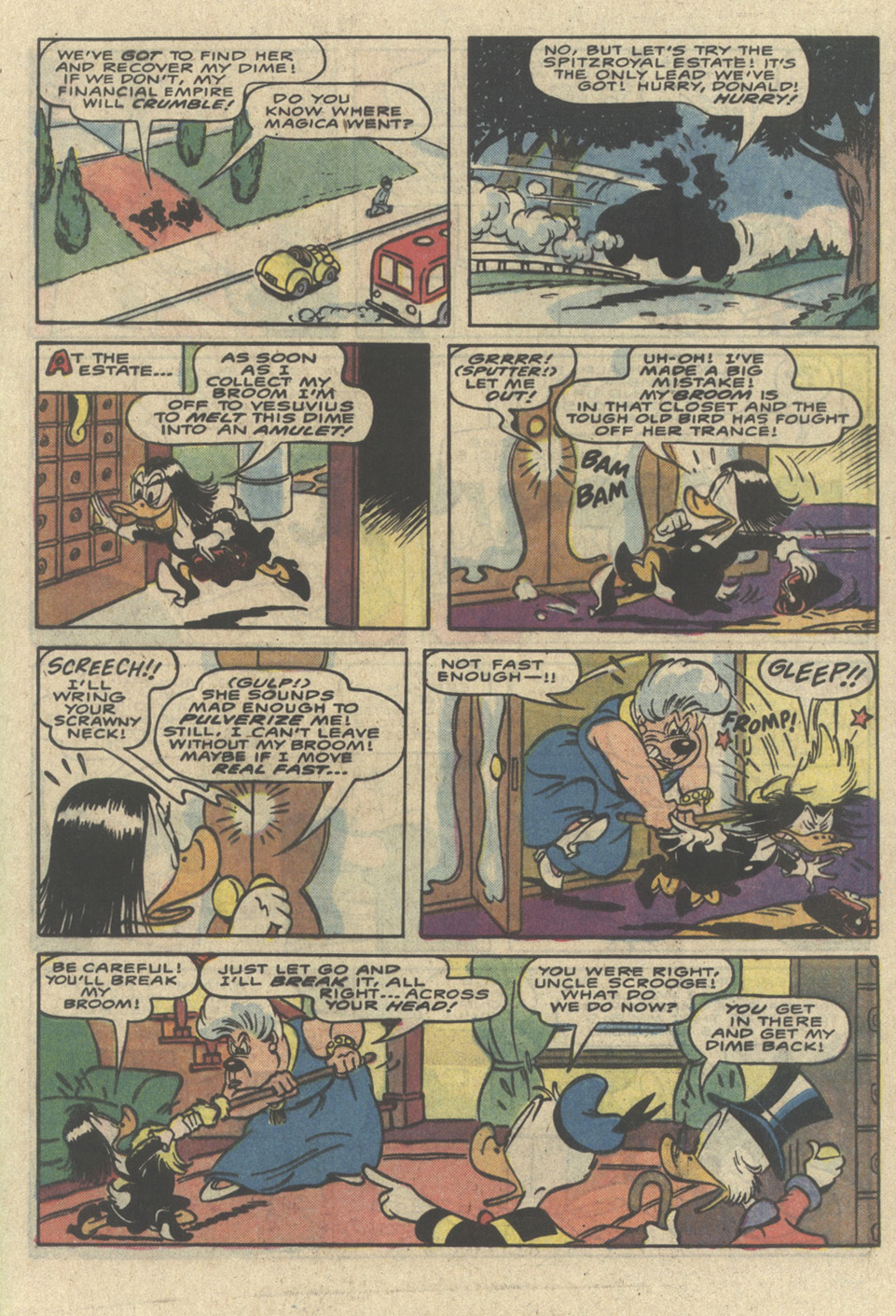 Read online Uncle Scrooge (1953) comic -  Issue #226 - 33