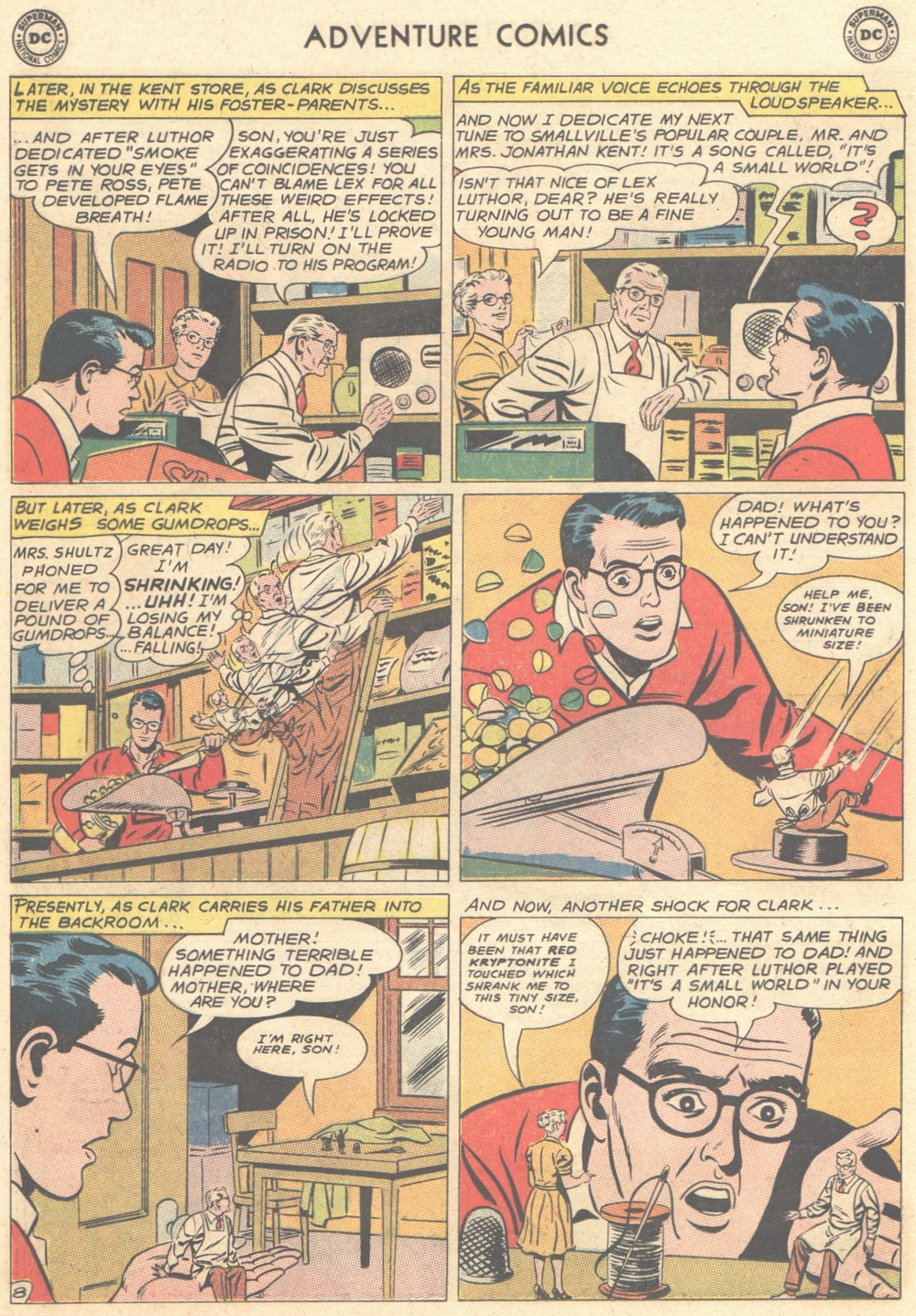 Read online Adventure Comics (1938) comic -  Issue #308 - 9