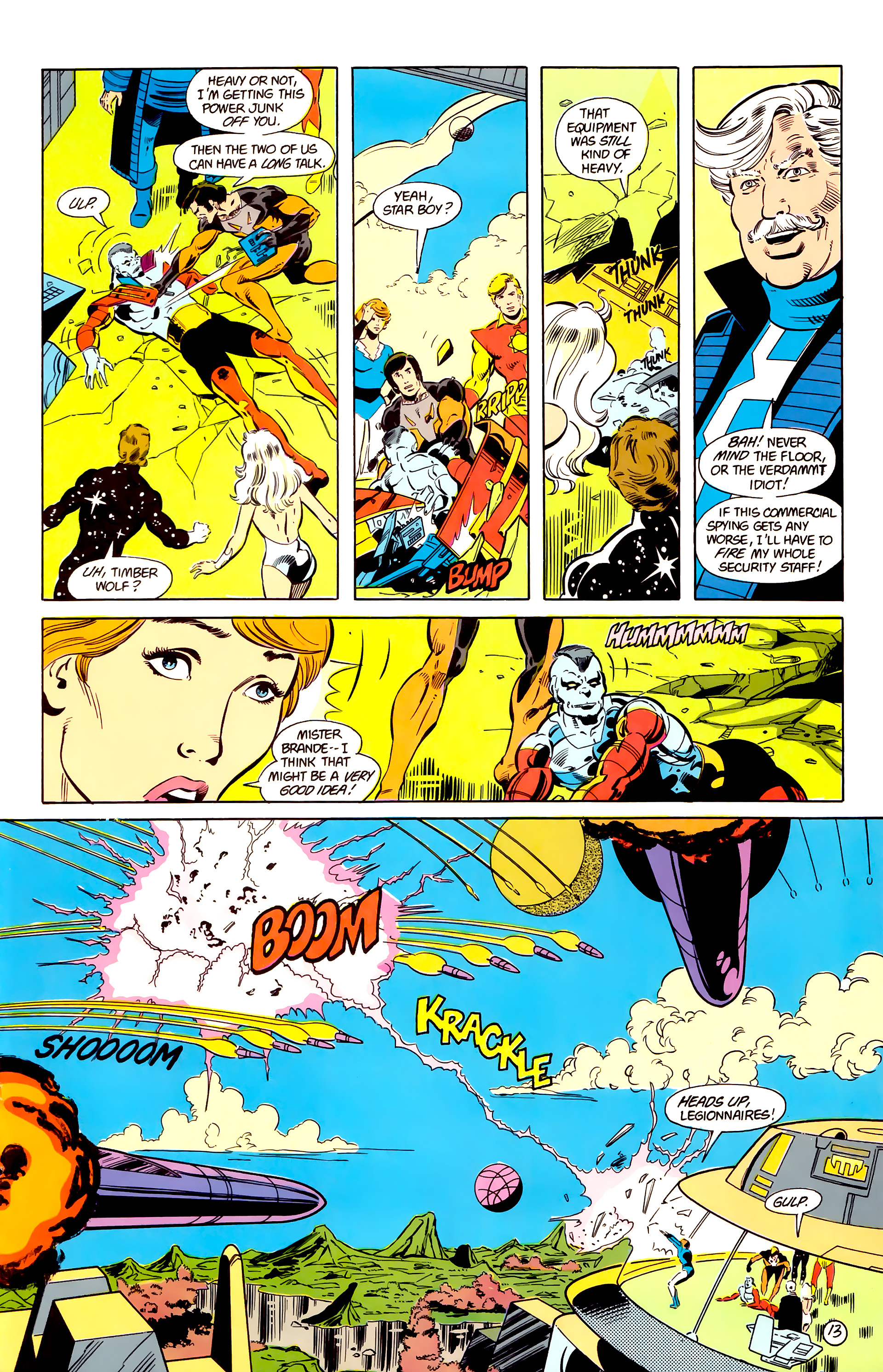 Legion of Super-Heroes (1984) 17 Page 14