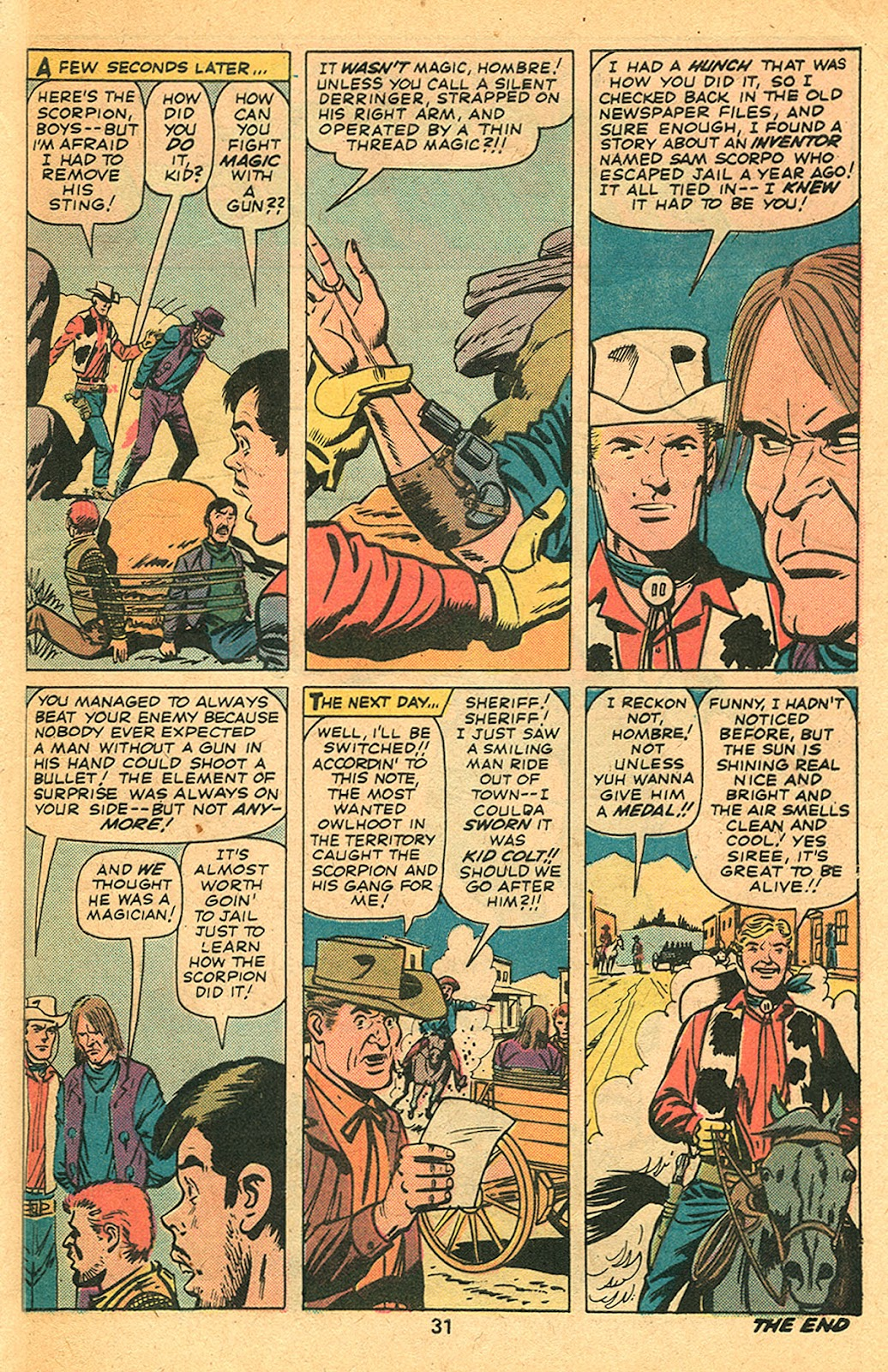 Kid Colt Outlaw issue 193 - Page 33