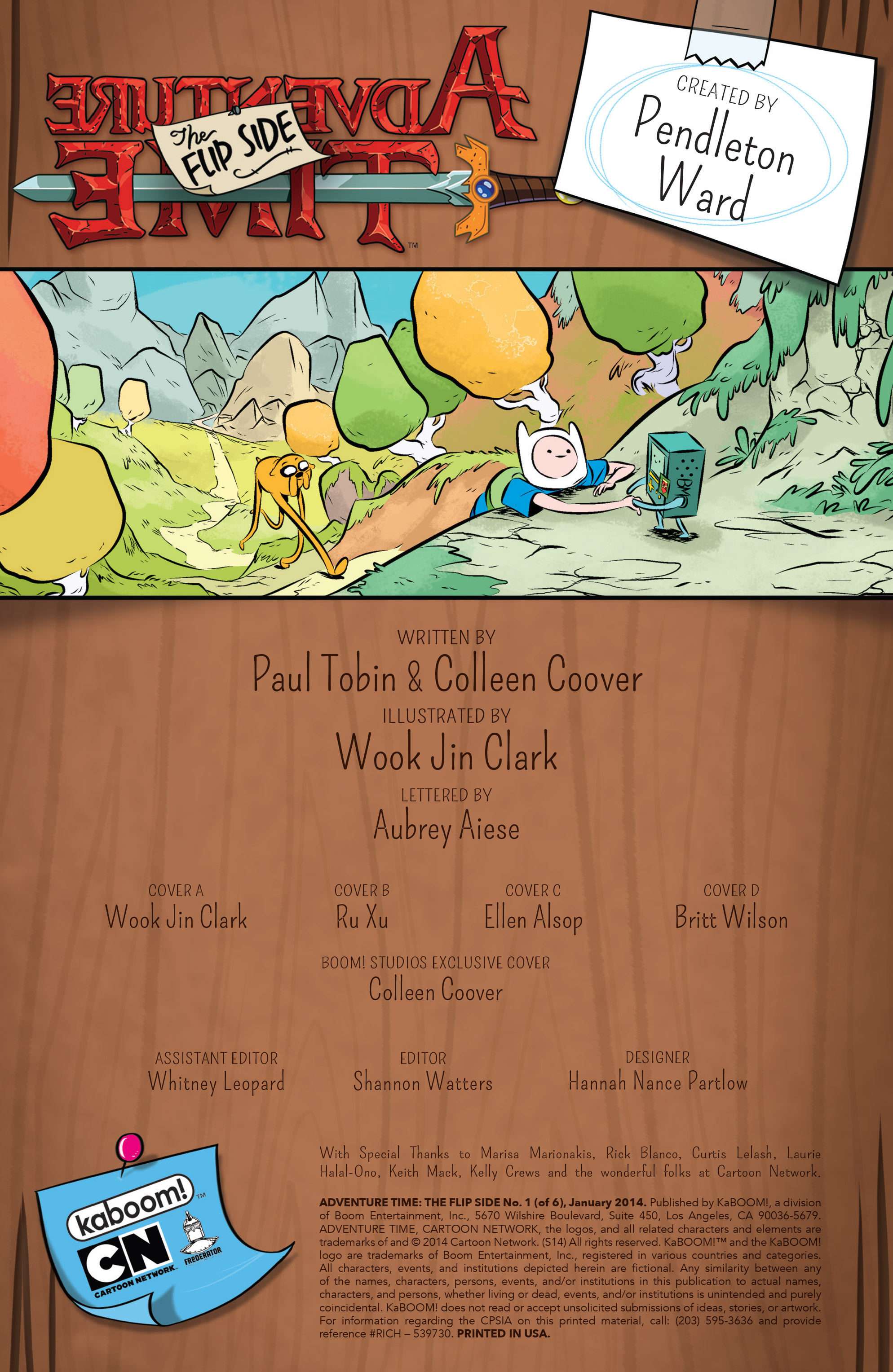 Read online Adventure Time: The Flip Side comic -  Issue #1 - 6
