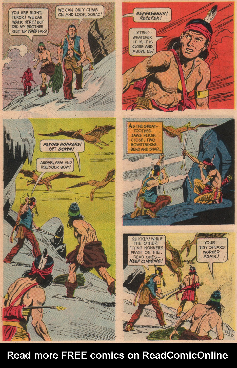 Read online Turok, Son of Stone comic -  Issue #48 - 10