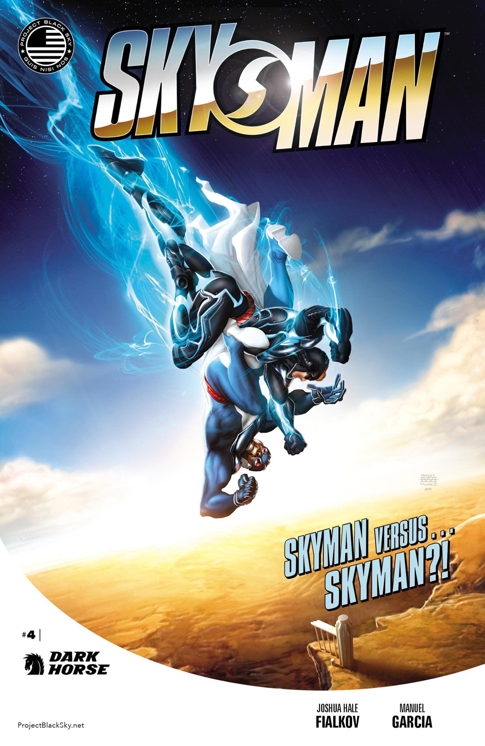 Read online Skyman comic -  Issue #4 - 1