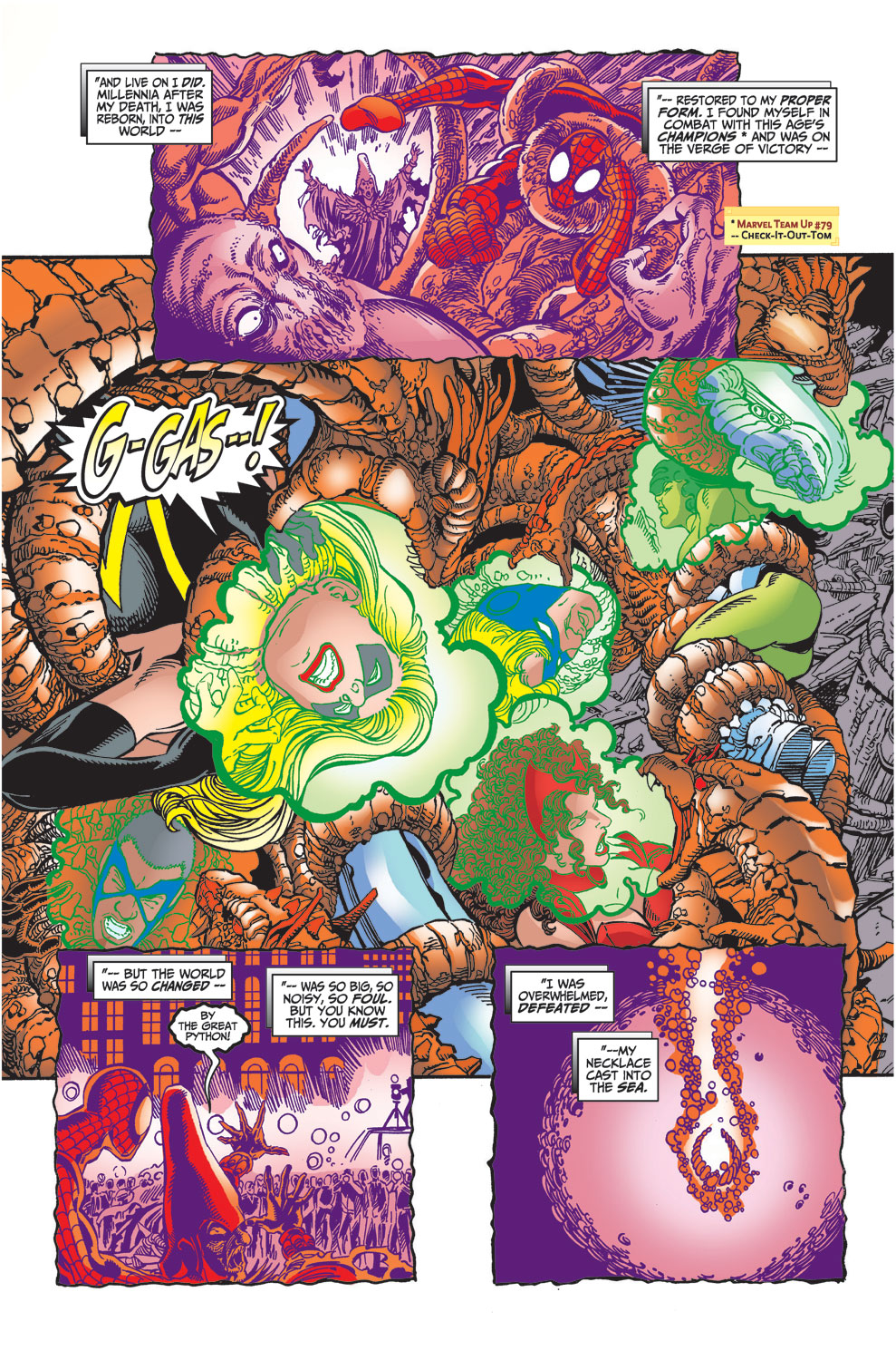Read online Avengers (1998) comic -  Issue #29 - 20