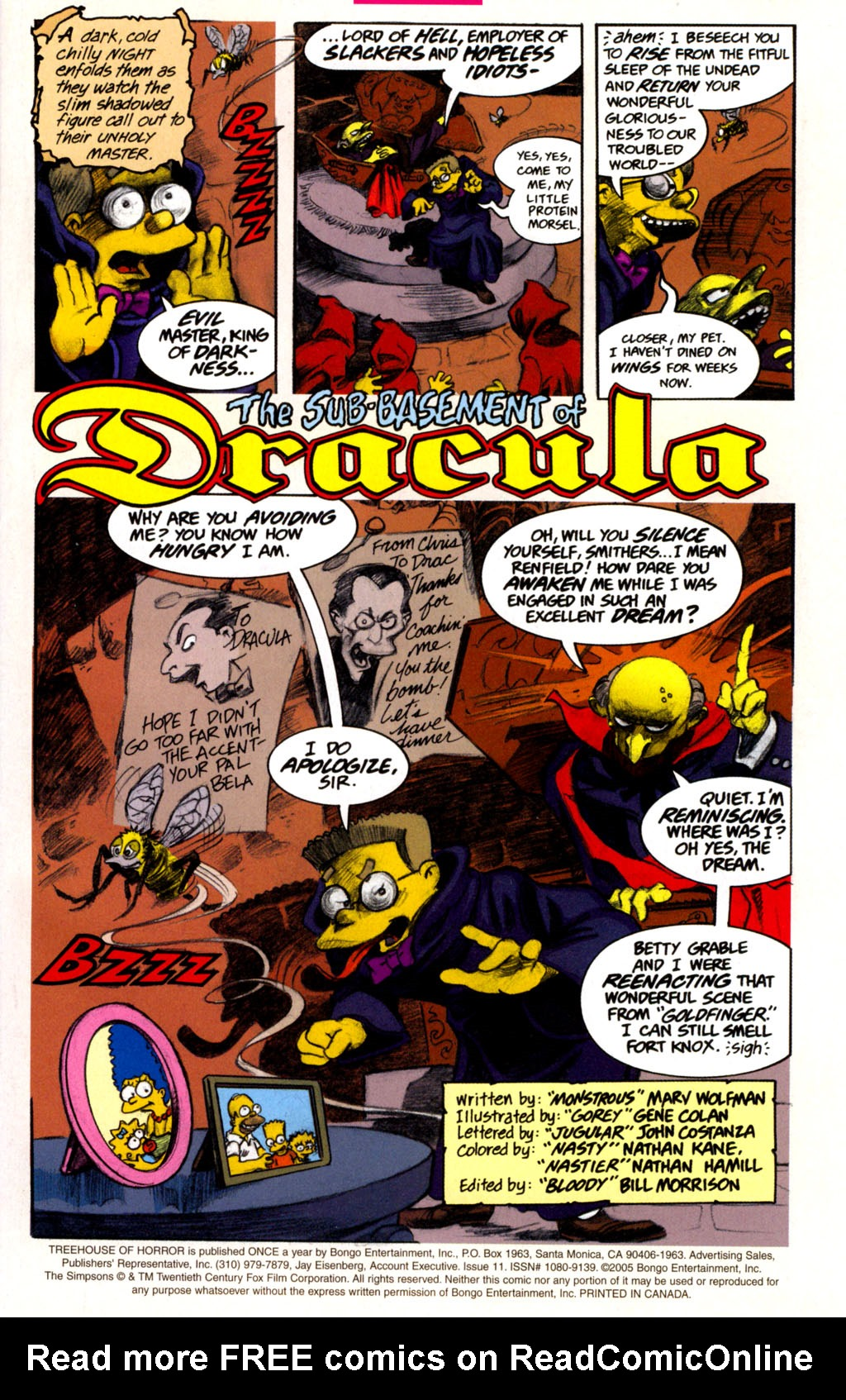 Read online Treehouse of Horror comic -  Issue #11 - 4
