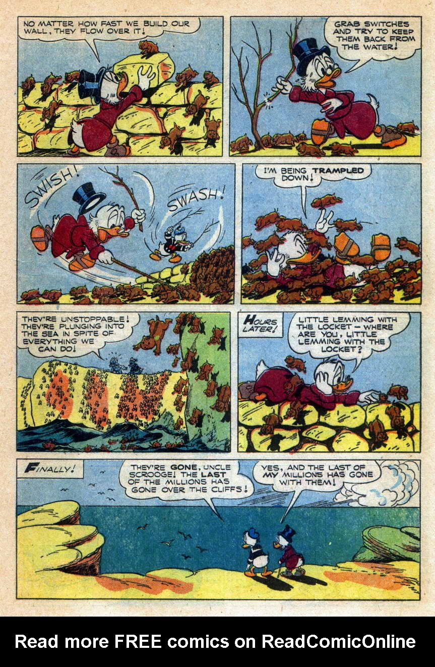 Read online Uncle Scrooge (1953) comic -  Issue #9 - 21
