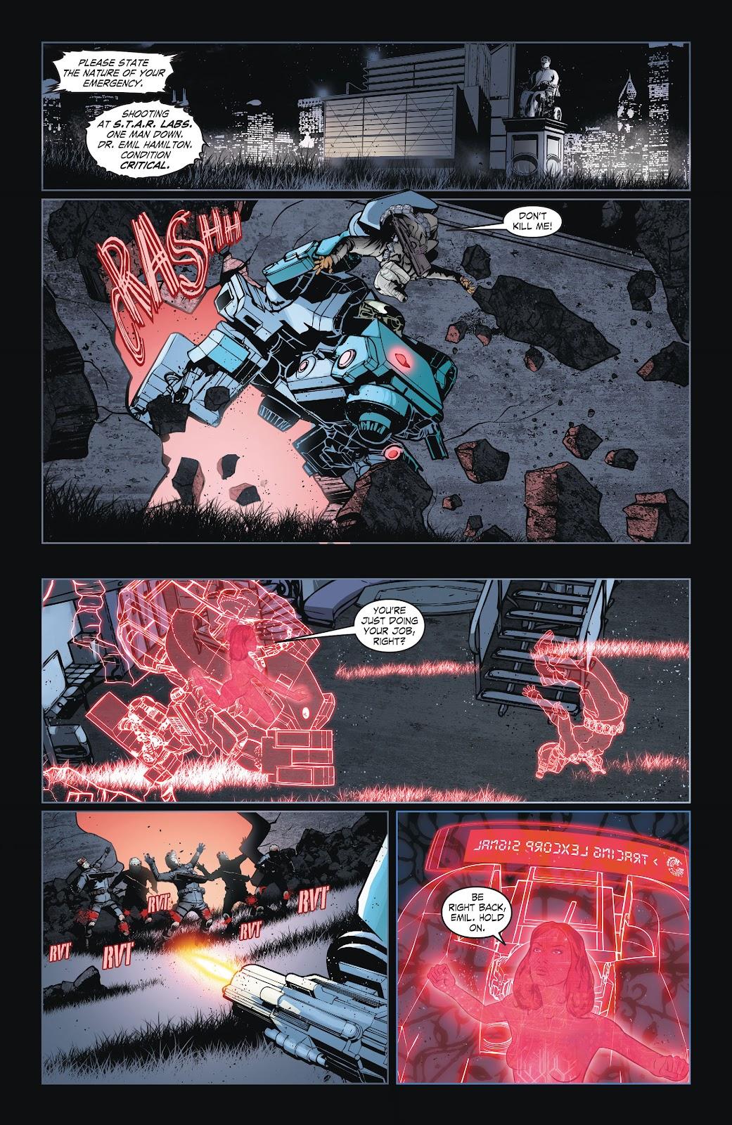 Read online Smallville Season 11 [II] comic -  Issue # TPB 6 - 37