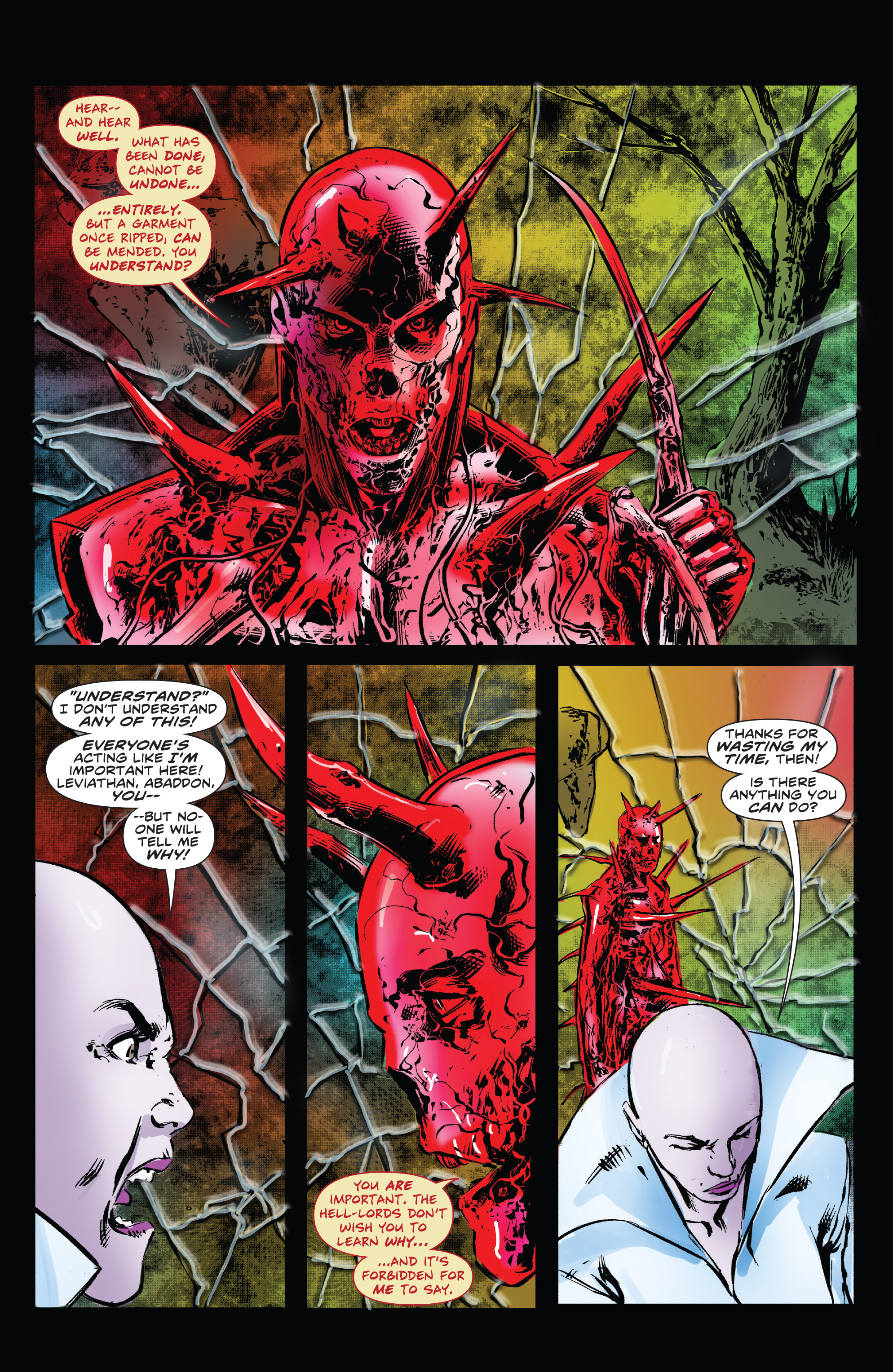 Read online Clive Barker's Hellraiser: The Dark Watch comic -  Issue # TPB 3 - 102