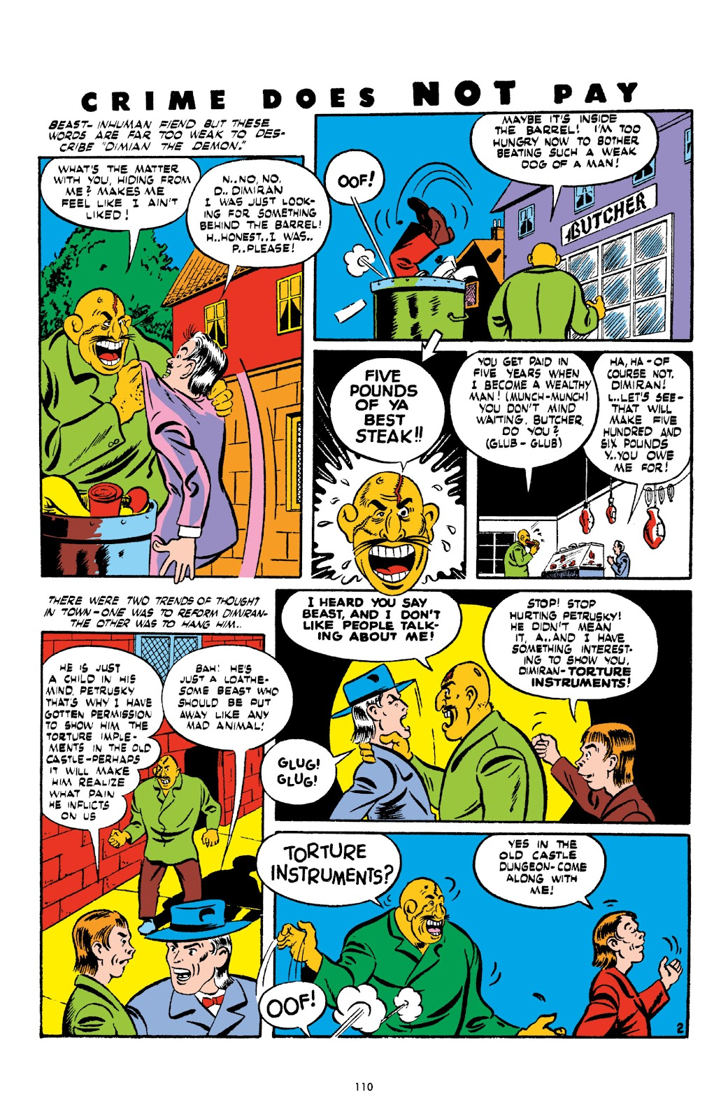 Read online Crime Does Not Pay Archives comic -  Issue # TPB 2 (Part 2) - 10