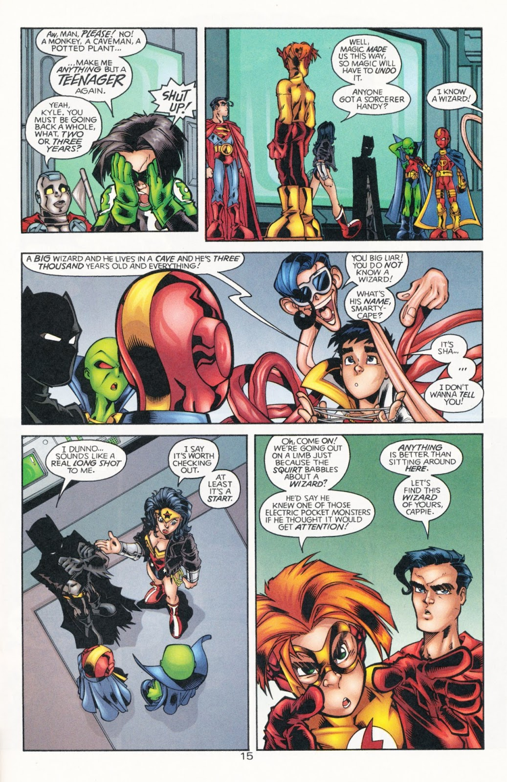 Sins of Youth issue JLA Jr. - Page 23