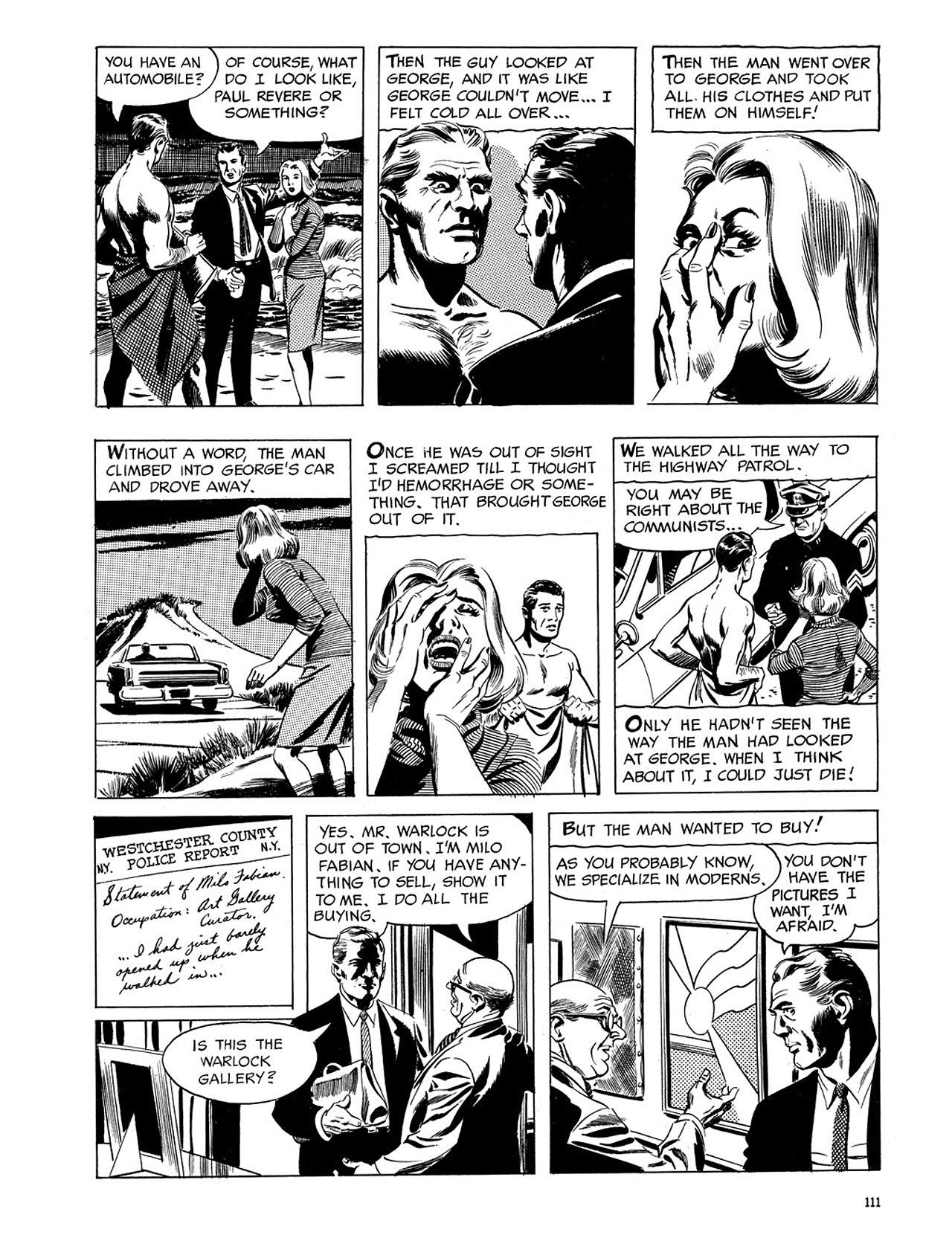 Read online Eerie Archives comic -  Issue # TPB 3 - 112