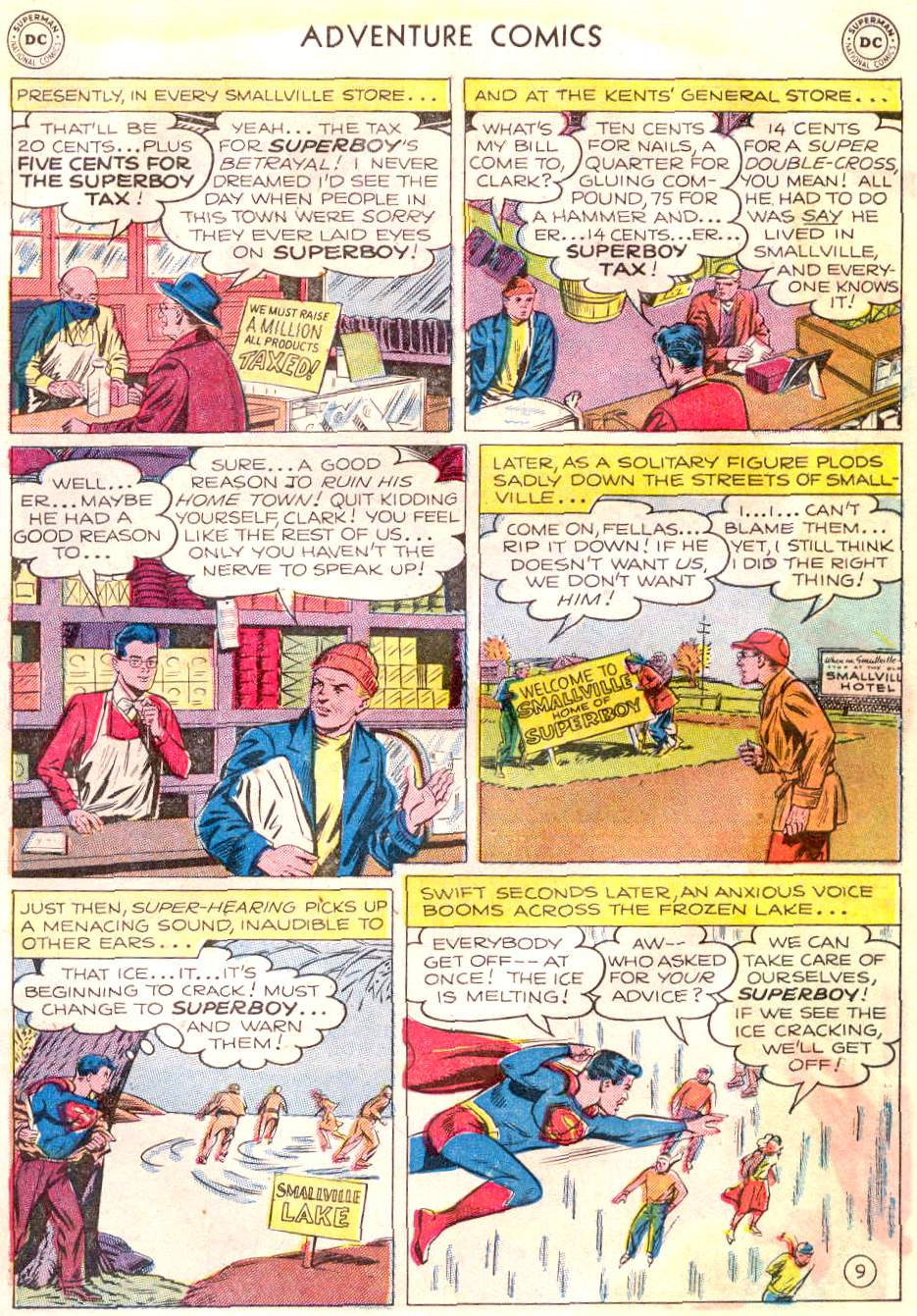 Read online Adventure Comics (1938) comic -  Issue #166 - 10