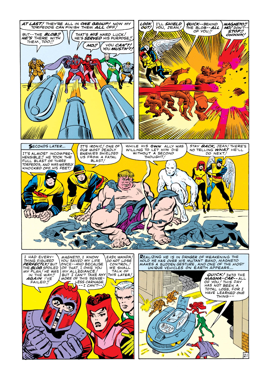 Uncanny X-Men (1963) 7 Page 21